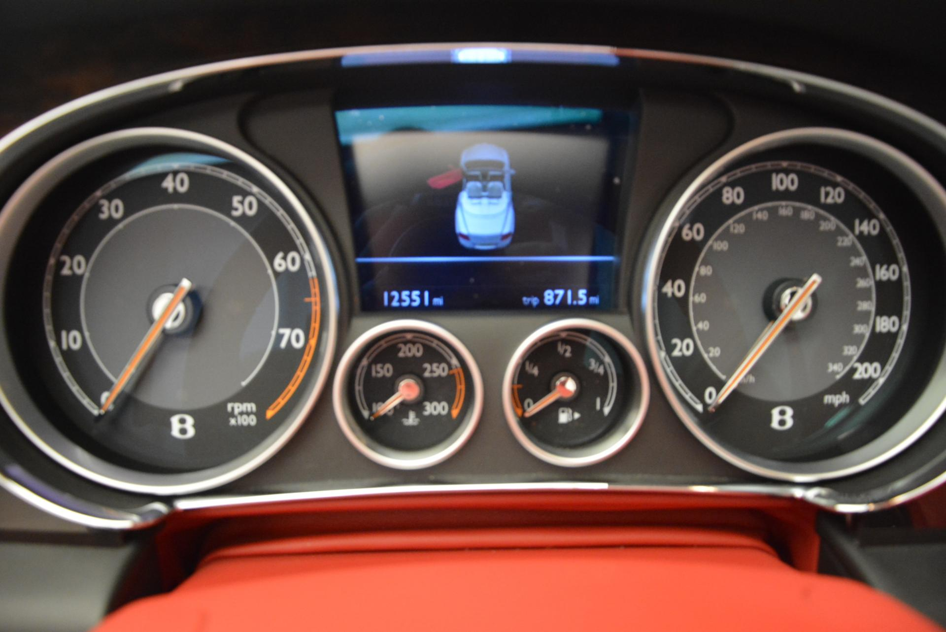 Used 2014 Bentley Continental GT Speed Convertible For Sale In Westport, CT 18_p37