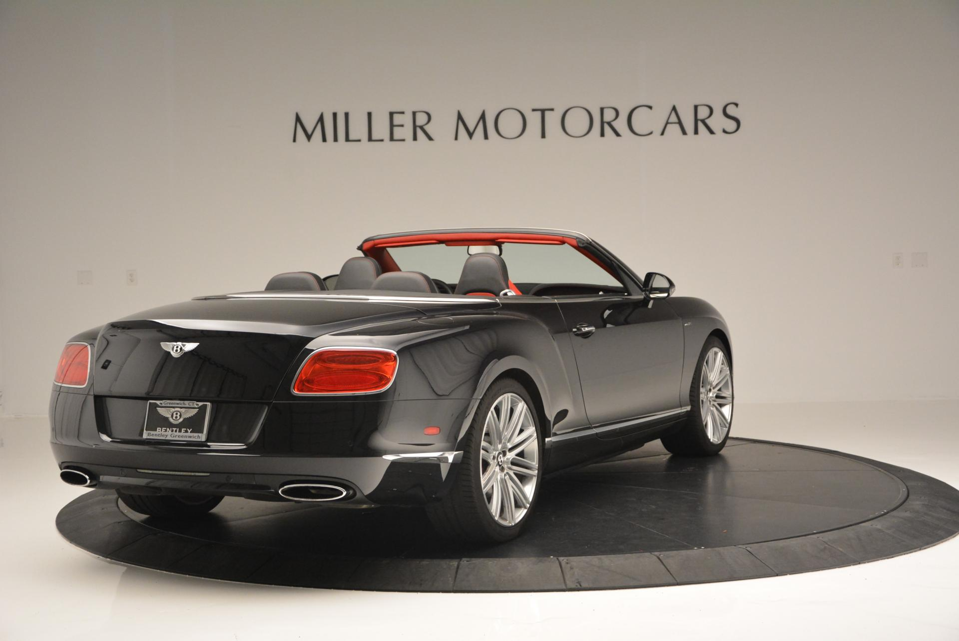Used 2014 Bentley Continental GT Speed Convertible For Sale In Westport, CT 18_p7