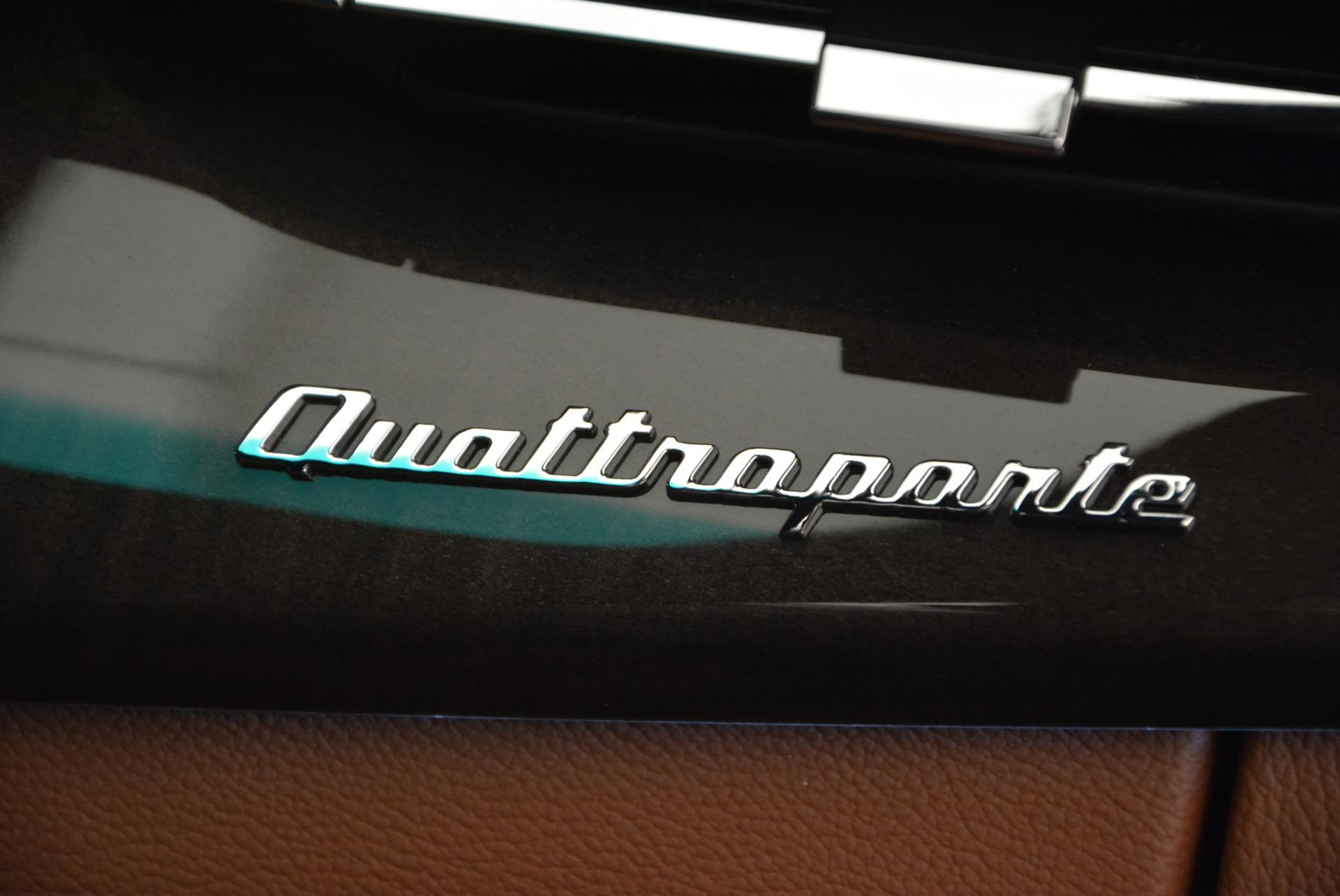 New 2016 Maserati Quattroporte S Q4 For Sale In Westport, CT 181_p20