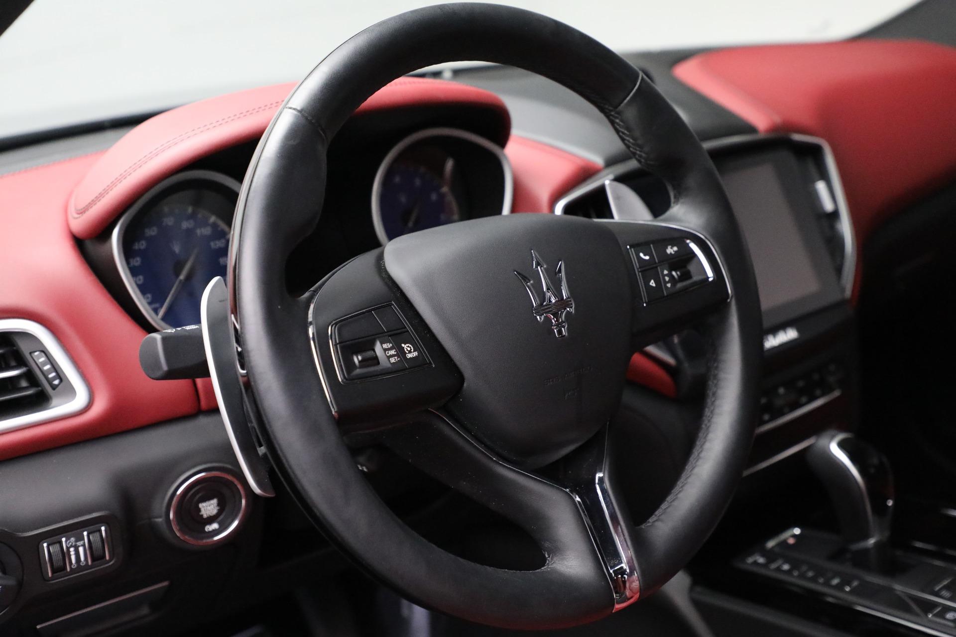 New 2018 Maserati Ghibli S Q4 GranLusso For Sale In Westport, CT 1810_p17