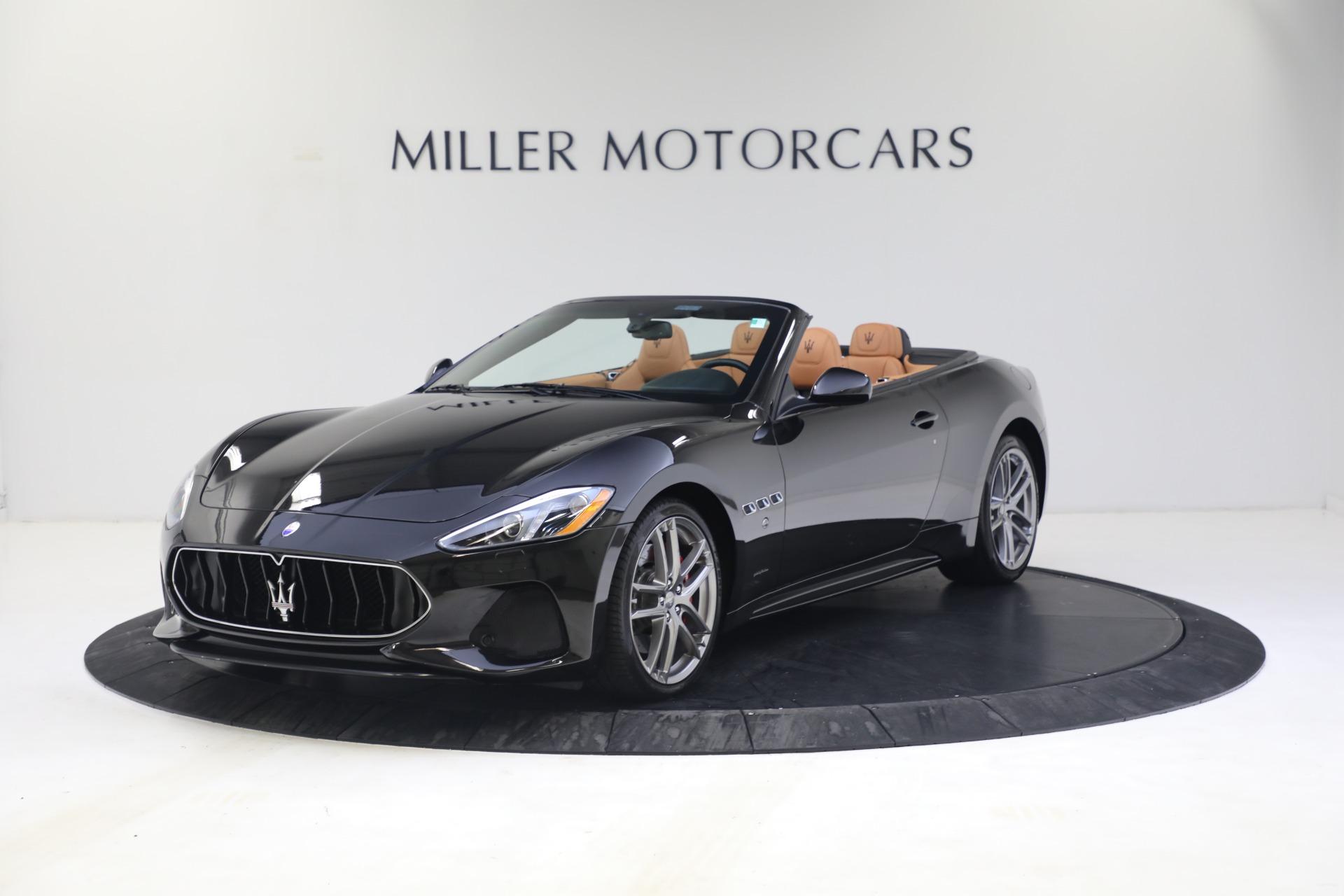 New 2018 Maserati GranTurismo Sport Convertible For Sale In Westport, CT 1814_p2