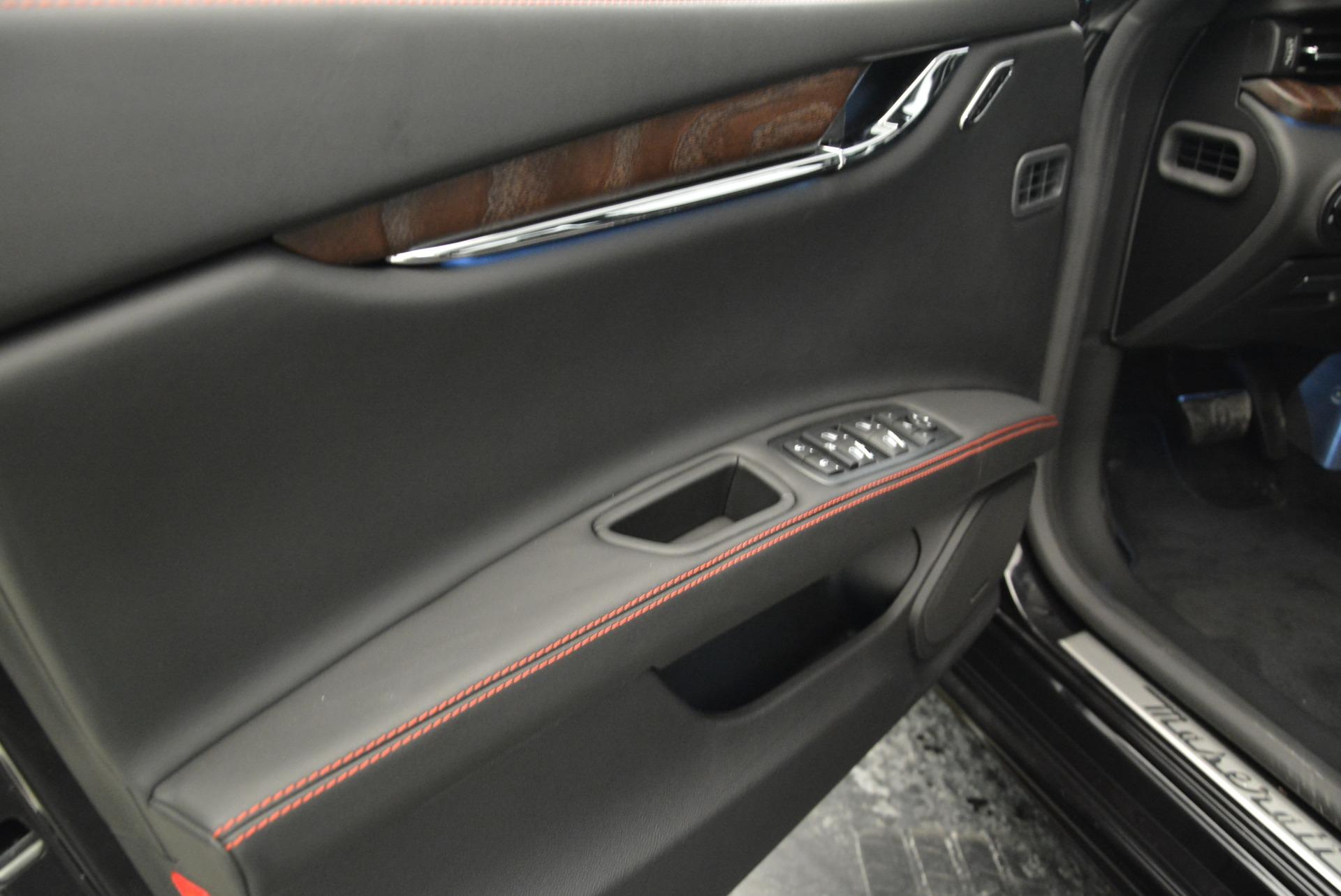 New 2018 Maserati Quattroporte S Q4 GranLusso For Sale In Westport, CT 1815_p16