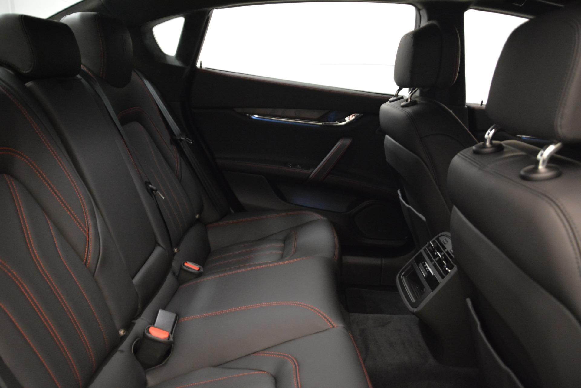 New 2018 Maserati Quattroporte S Q4 GranLusso For Sale In Westport, CT 1815_p24