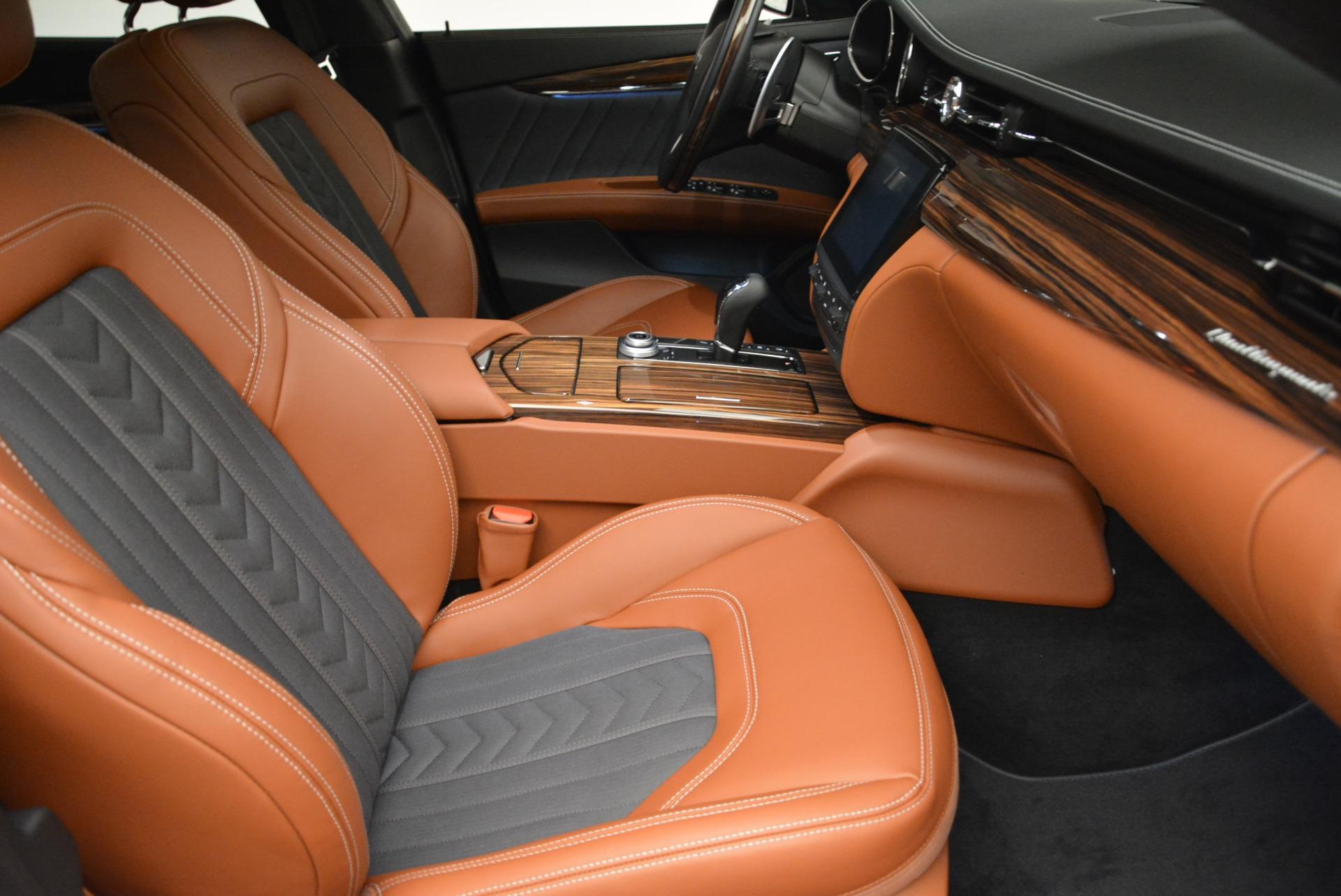 New 2018 Maserati Quattroporte S Q4 GranLusso For Sale In Westport, CT 1816_p21