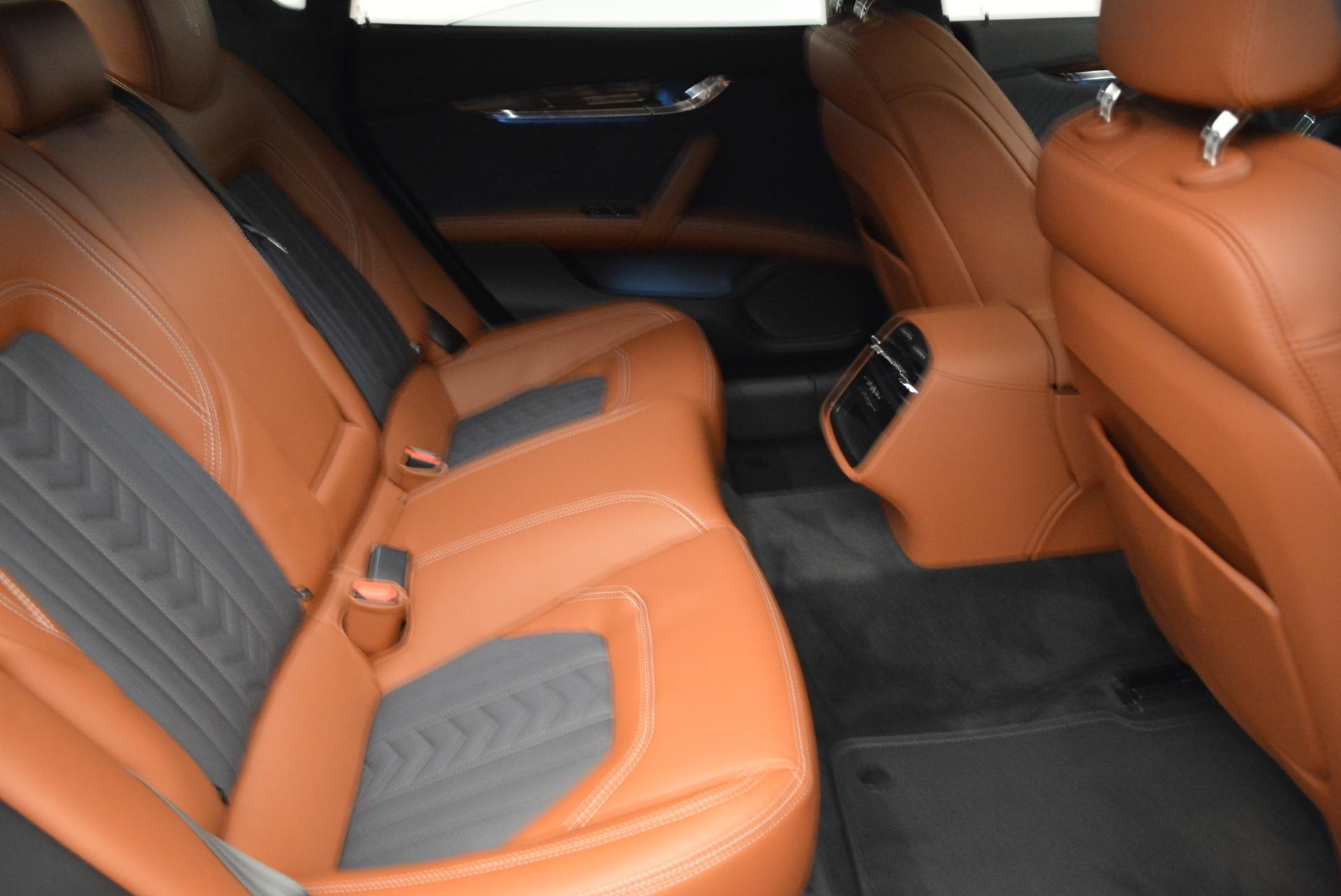 New 2018 Maserati Quattroporte S Q4 GranLusso For Sale In Westport, CT 1816_p24
