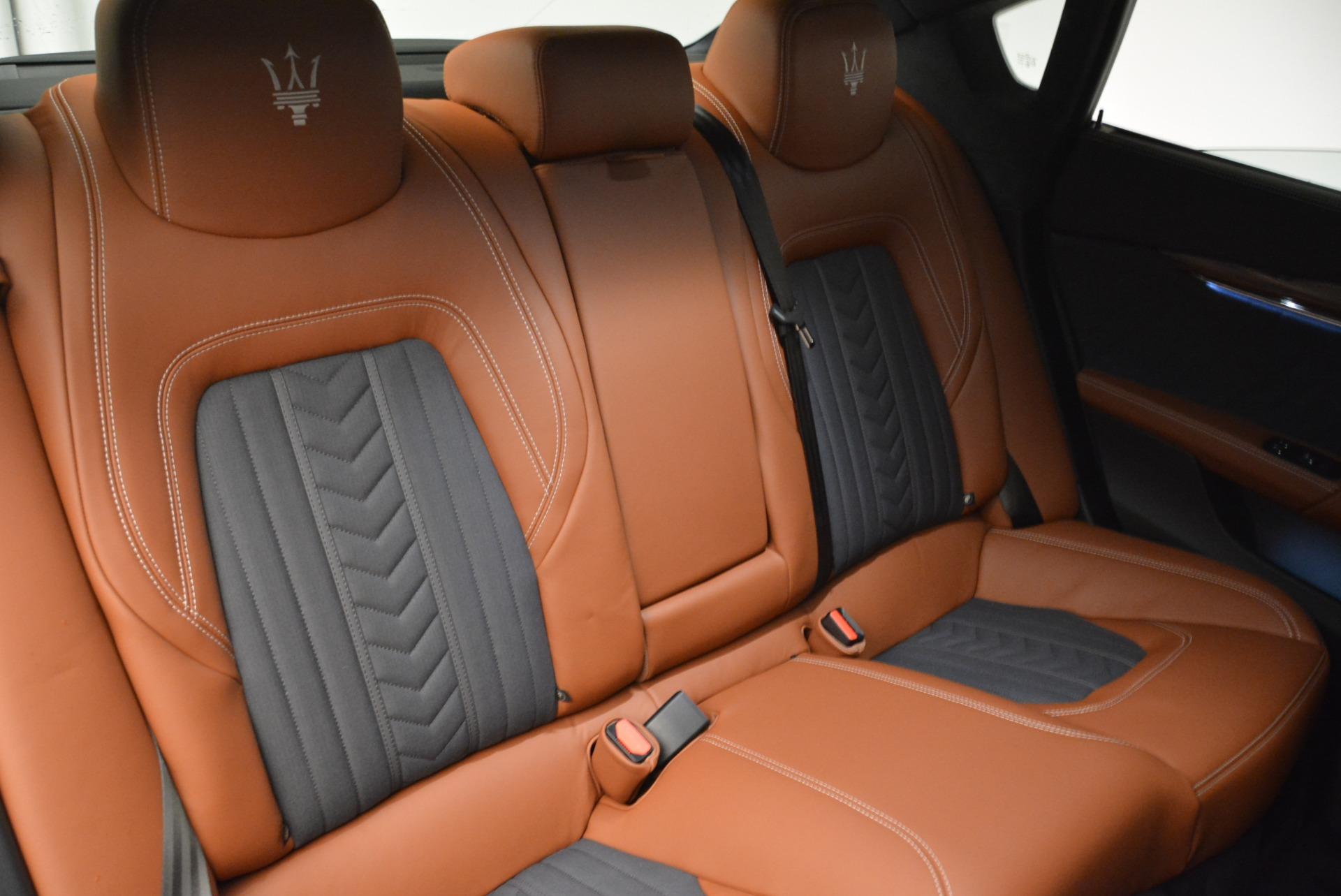 New 2018 Maserati Quattroporte S Q4 GranLusso For Sale In Westport, CT 1816_p25