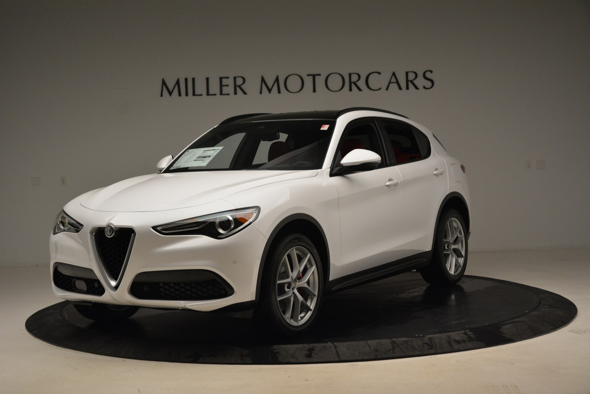 New 2018 Alfa Romeo Stelvio Ti Sport Q4 For Sale In Westport, CT 1821_p11