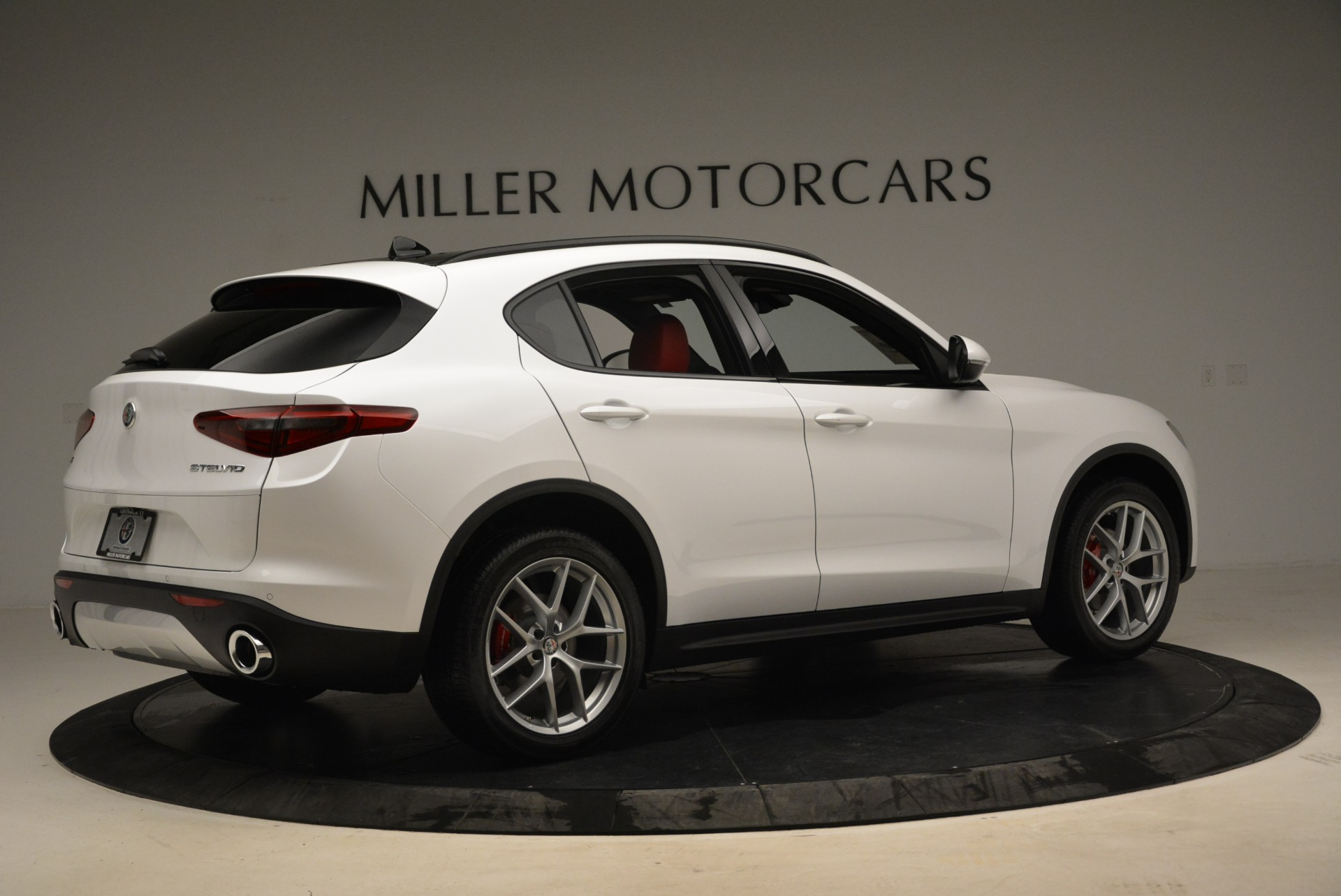 New 2018 Alfa Romeo Stelvio Ti Sport Q4 For Sale In Westport, CT 1821_p6