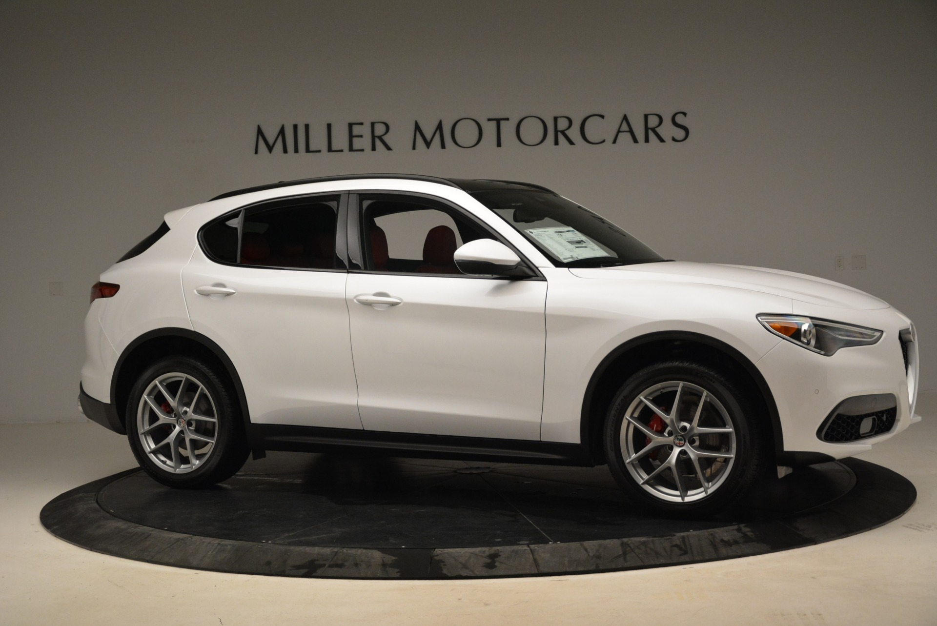 New 2018 Alfa Romeo Stelvio Ti Sport Q4 For Sale In Westport, CT 1821_p8