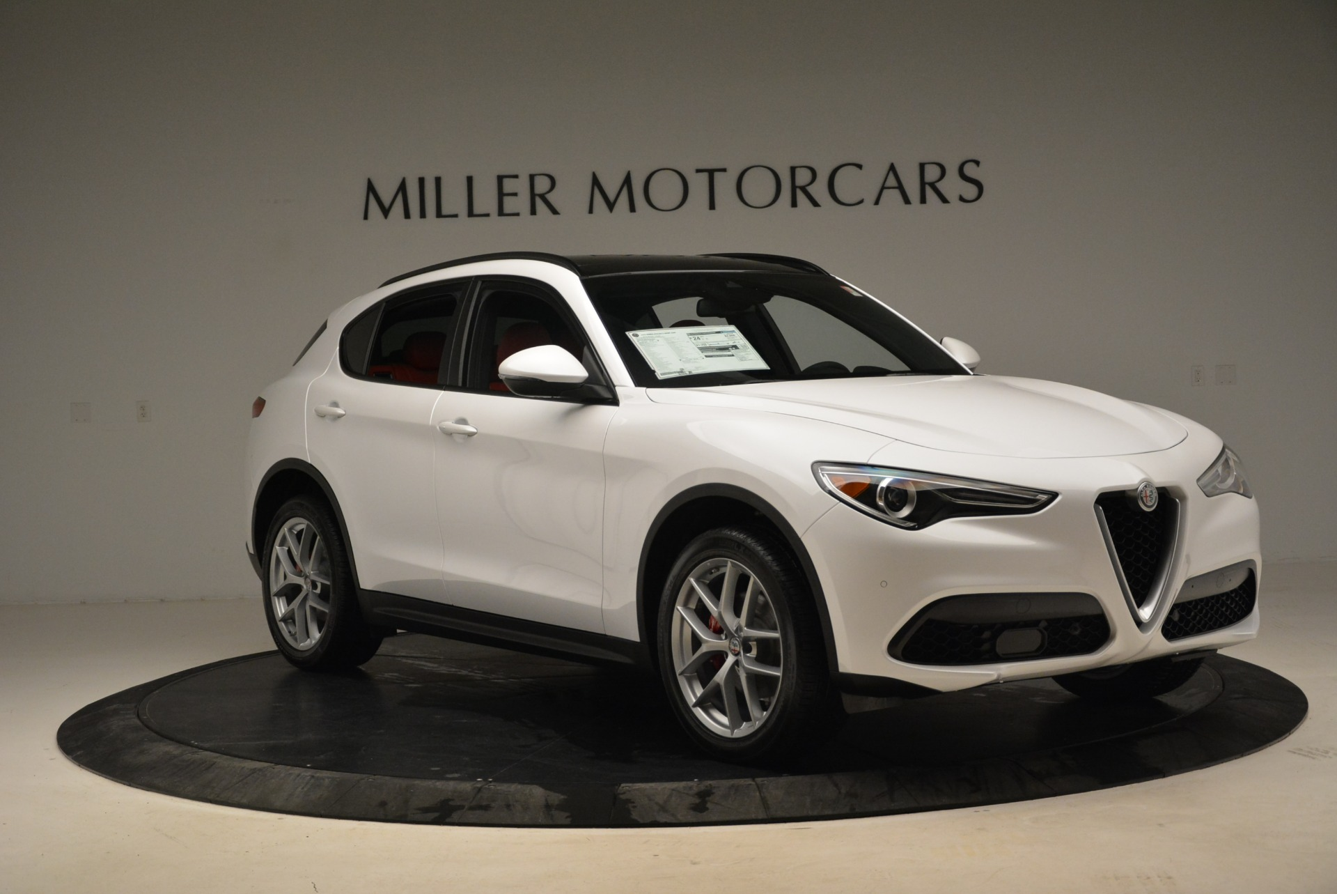 New 2018 Alfa Romeo Stelvio Ti Sport Q4 For Sale In Westport, CT 1821_p9