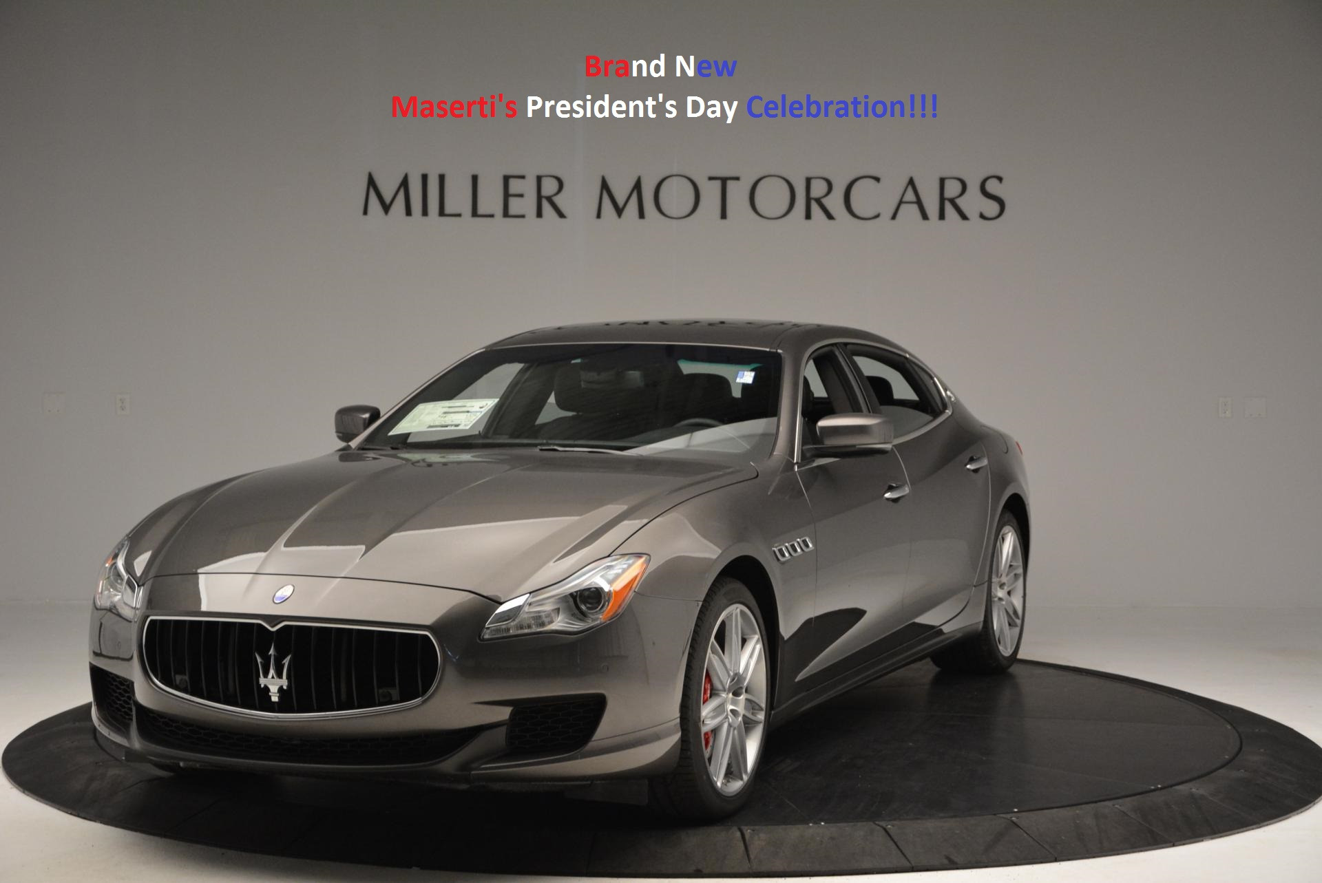 New 2016 Maserati Quattroporte S Q4 For Sale In Westport, CT