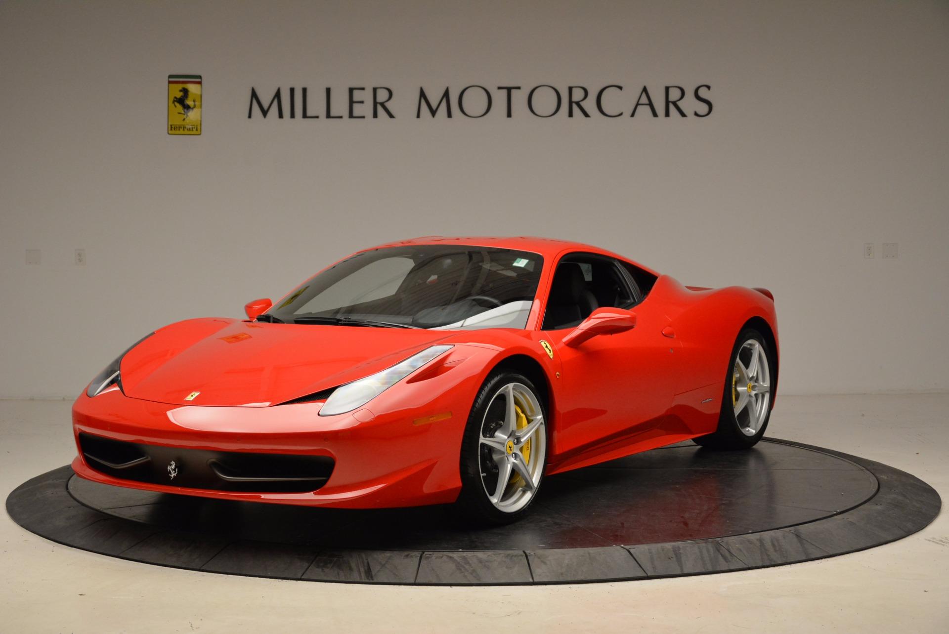 Used 2012 Ferrari 458 Italia  For Sale In Westport, CT 1833_main