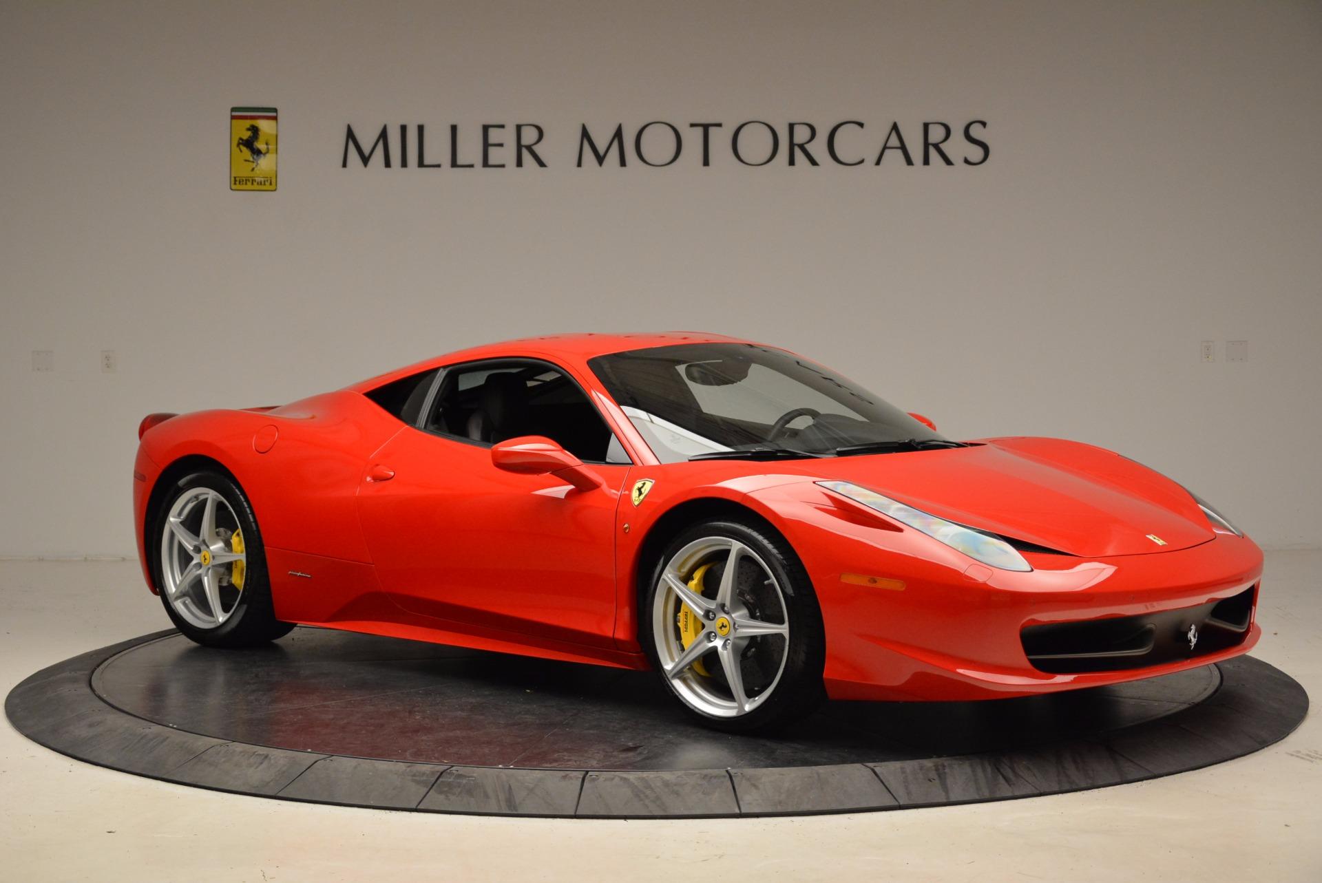 Used 2012 Ferrari 458 Italia  For Sale In Westport, CT 1833_p10