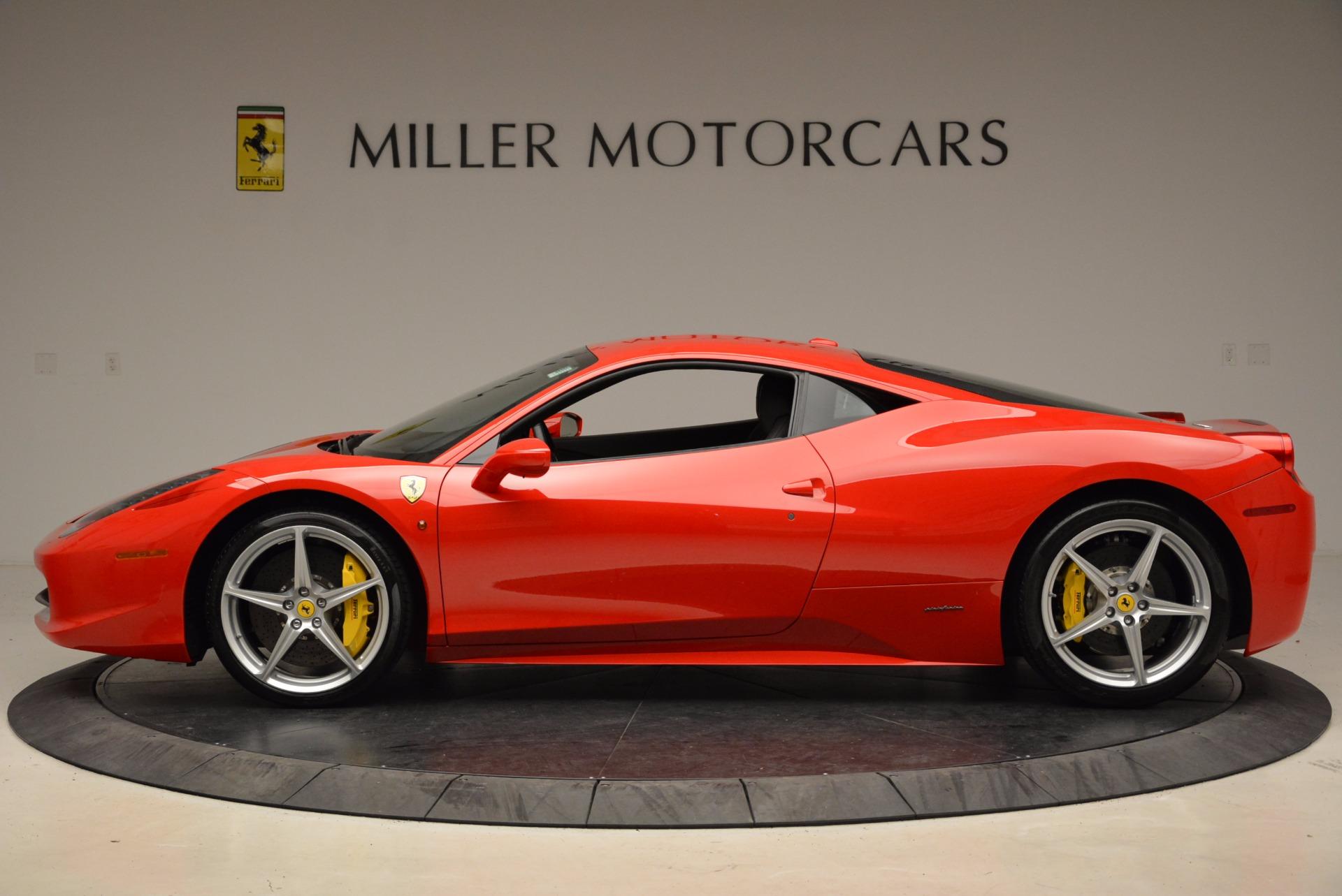 Used 2012 Ferrari 458 Italia  For Sale In Westport, CT 1833_p3