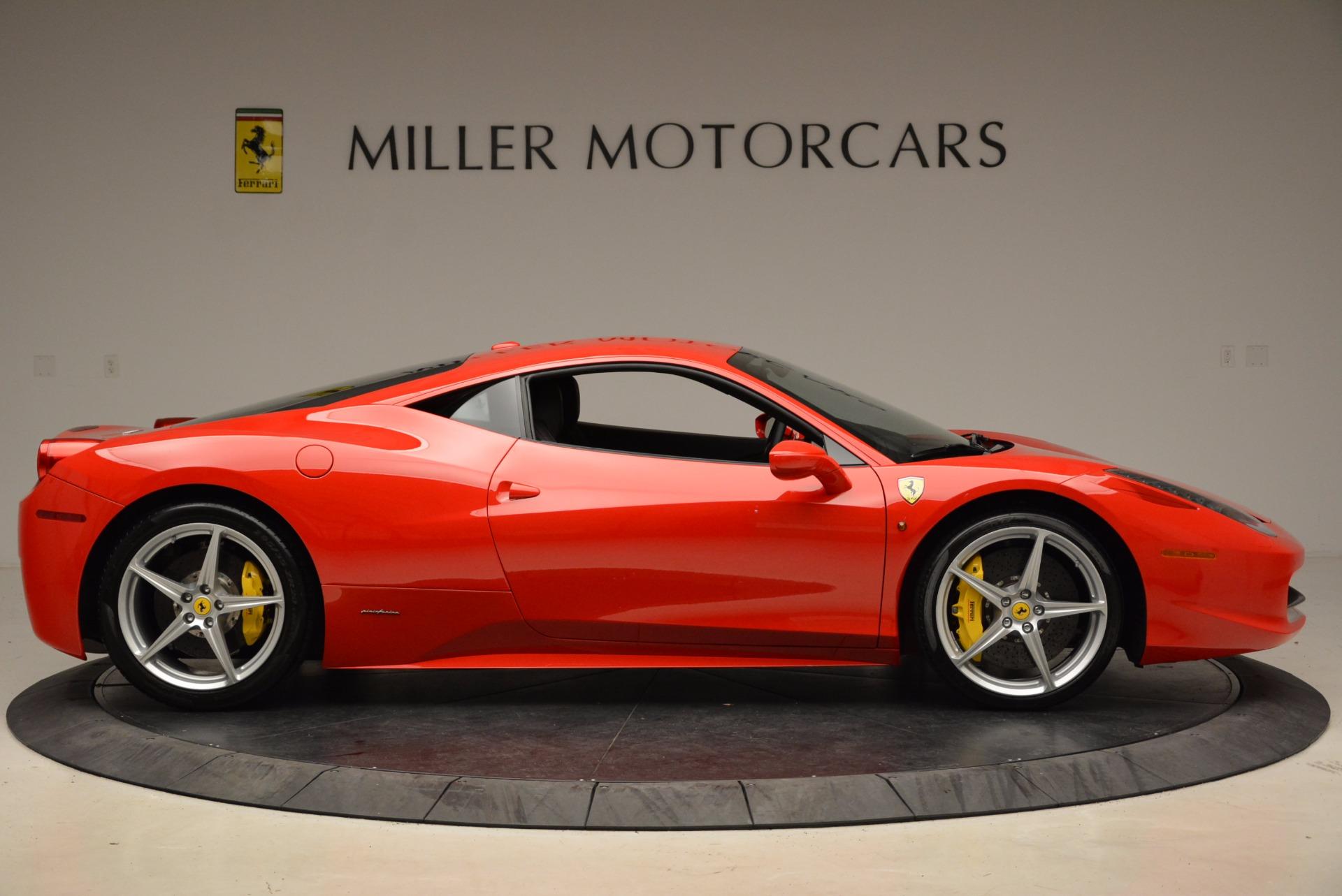 Used 2012 Ferrari 458 Italia  For Sale In Westport, CT 1833_p9