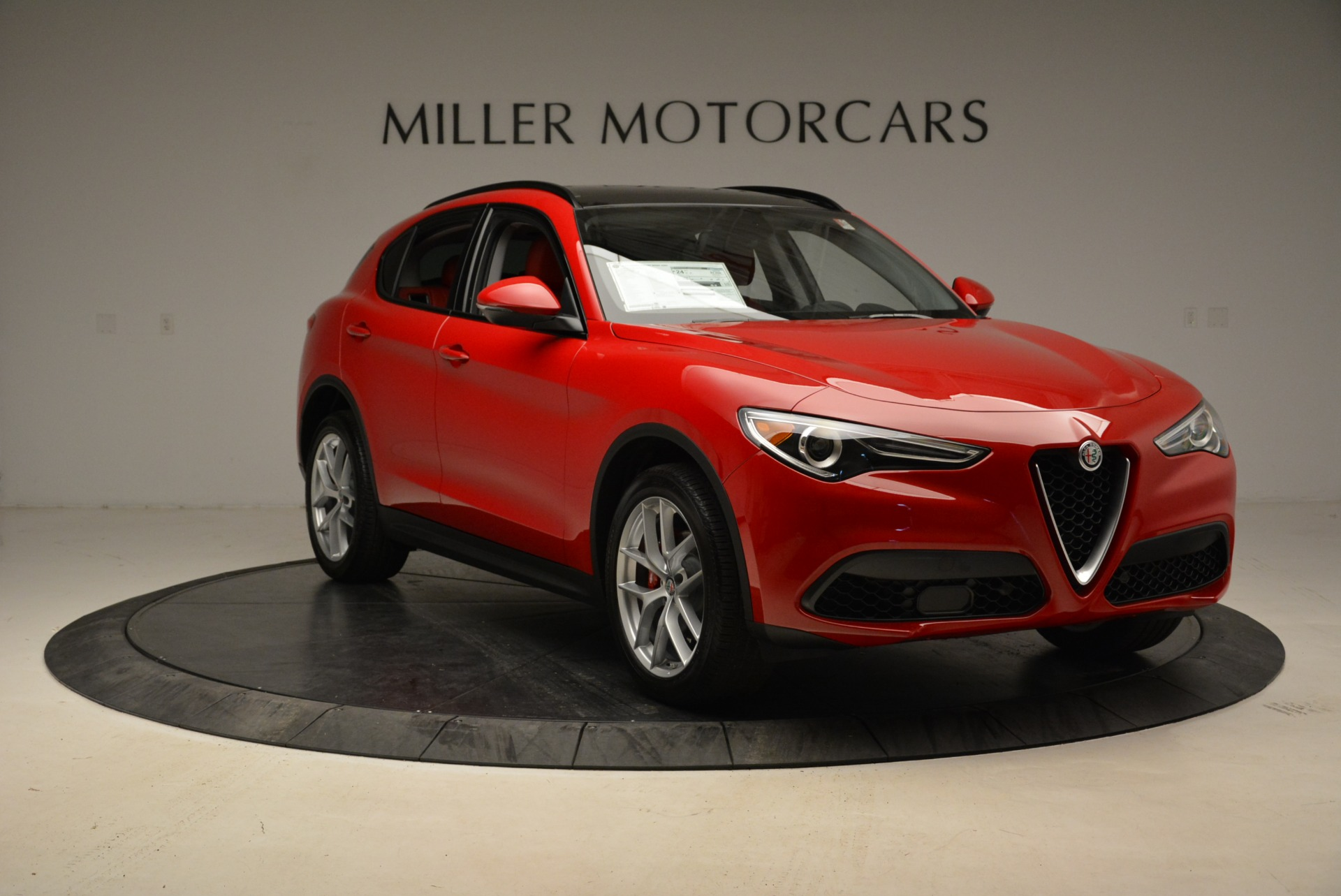 New 2018 Alfa Romeo Stelvio Sport Q4 For Sale In Westport, CT 1834_p11