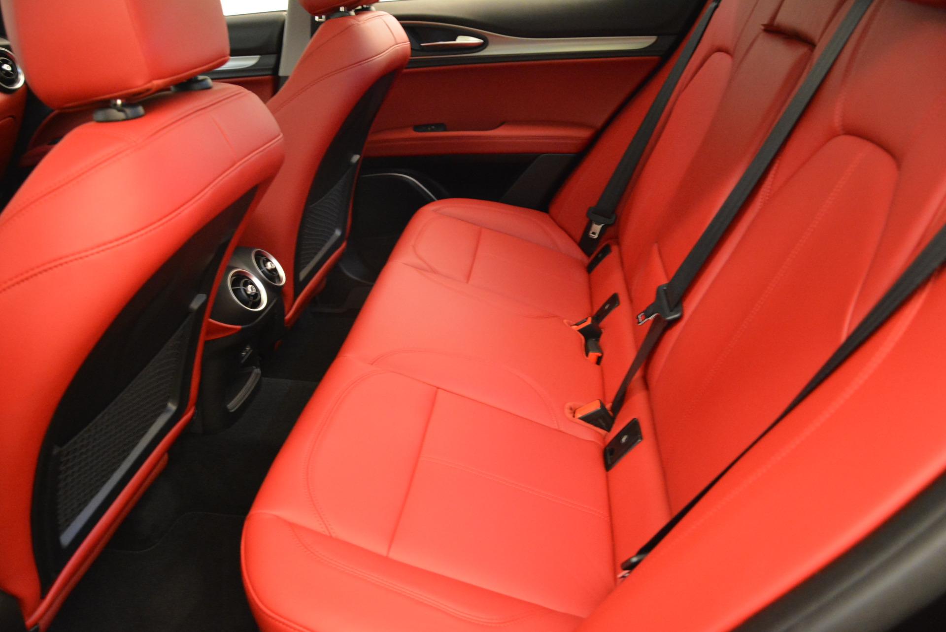 New 2018 Alfa Romeo Stelvio Sport Q4 For Sale In Westport, CT 1838_p17
