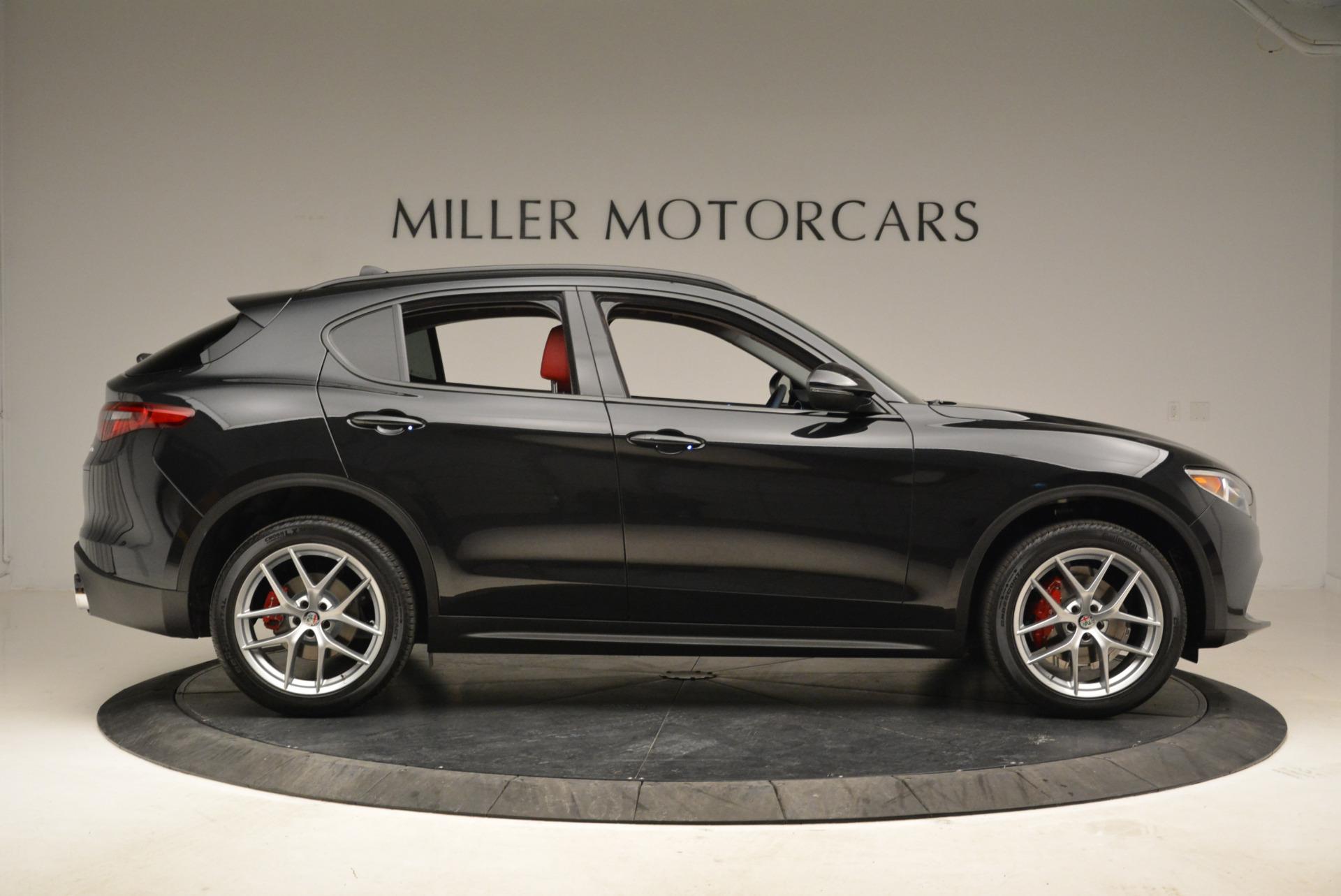 New 2018 Alfa Romeo Stelvio Sport Q4 For Sale In Westport, CT 1838_p9