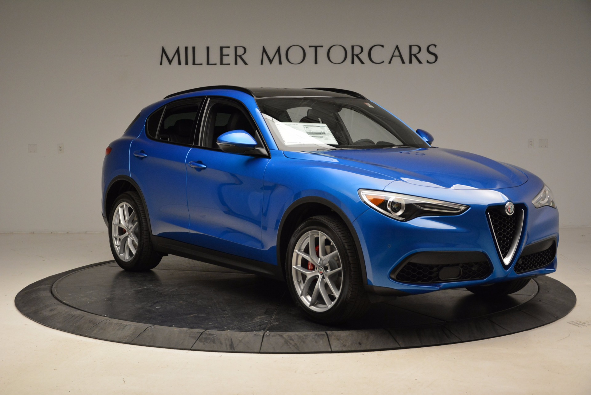 New 2018 Alfa Romeo Stelvio Ti Sport Q4 For Sale In Westport, CT 1849_p11
