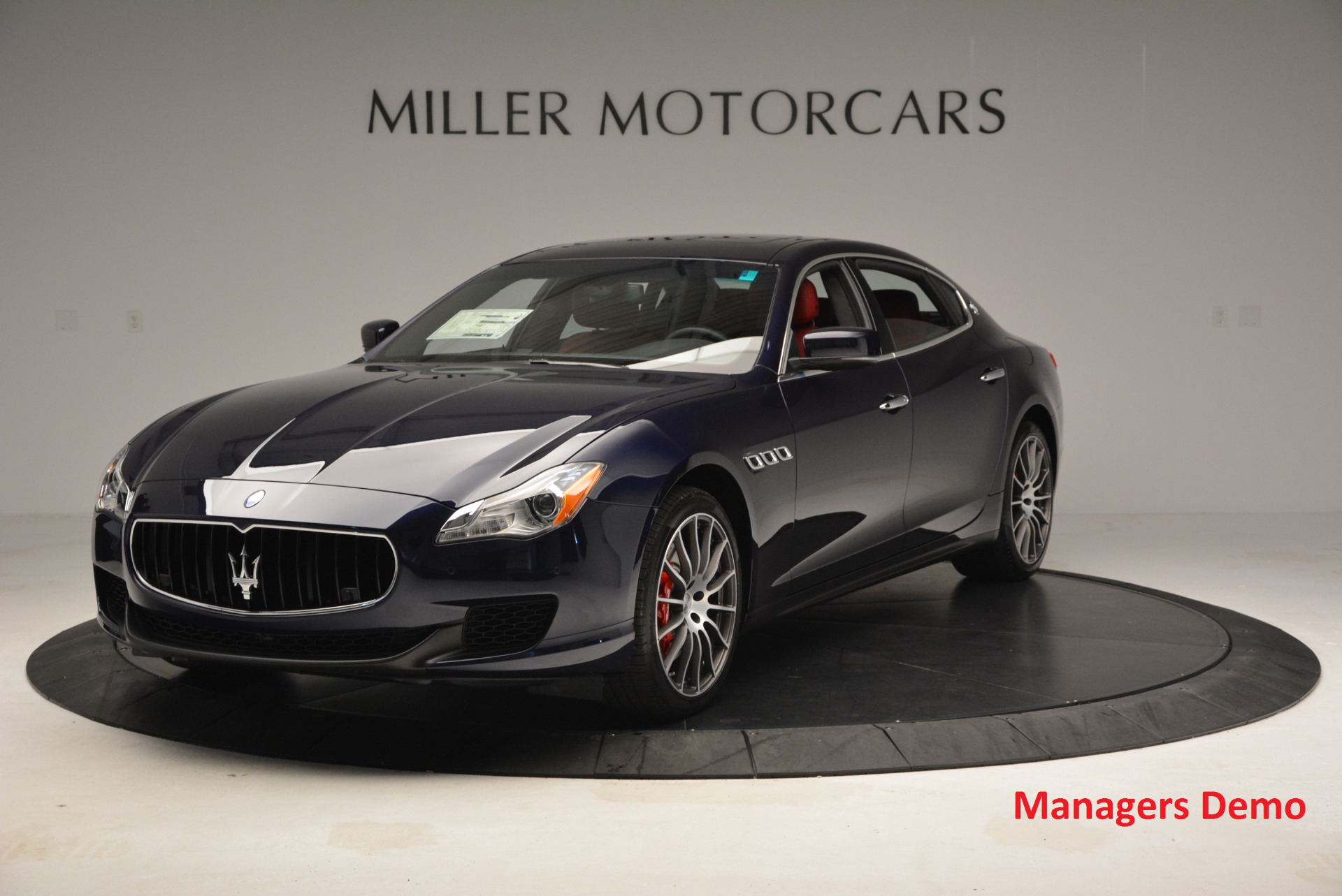 New 2016 Maserati Quattroporte S Q4  *******      DEALER'S  DEMO For Sale In Westport, CT 185_main