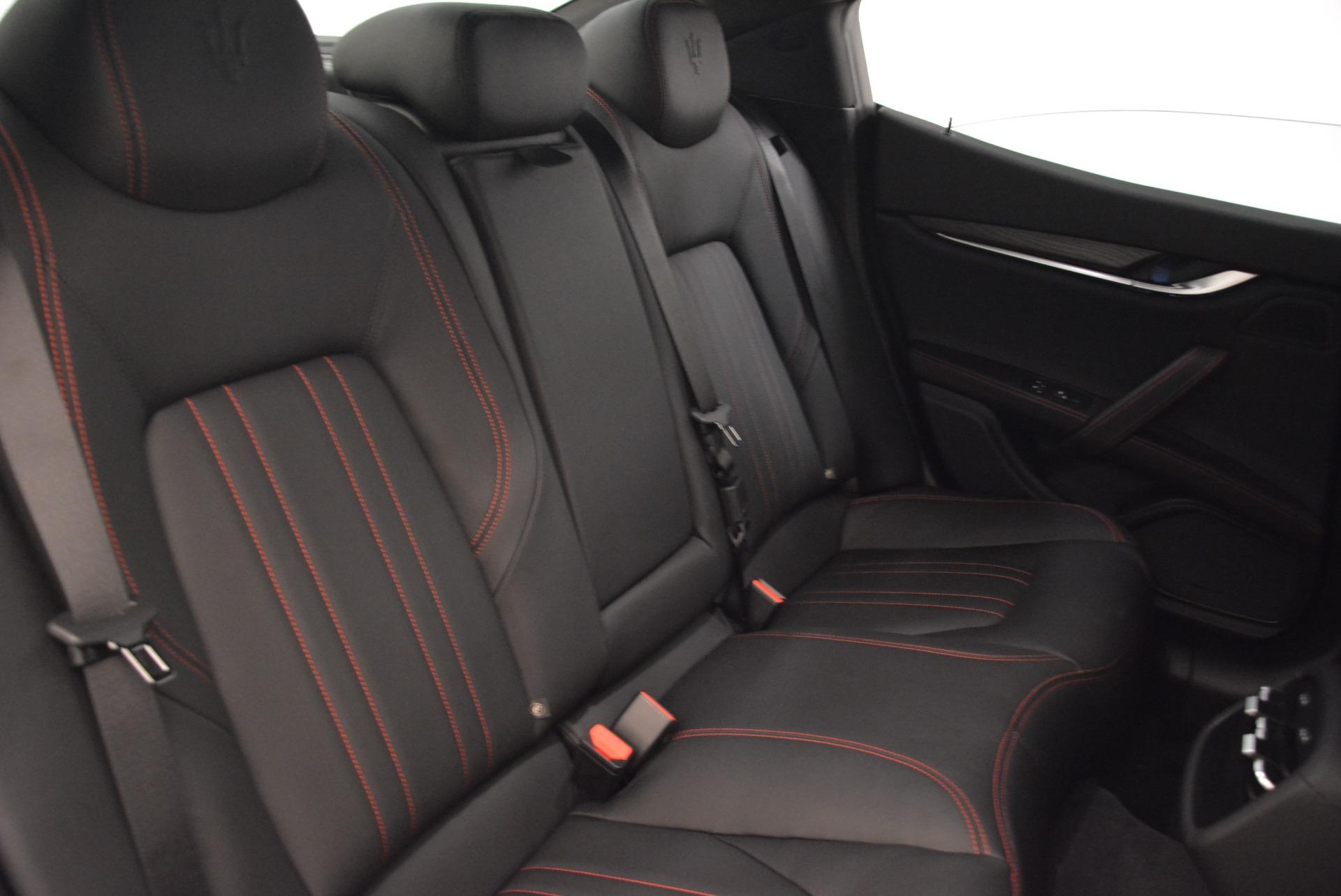 New 2018 Maserati Ghibli S Q4 For Sale In Westport, CT 1856_p25