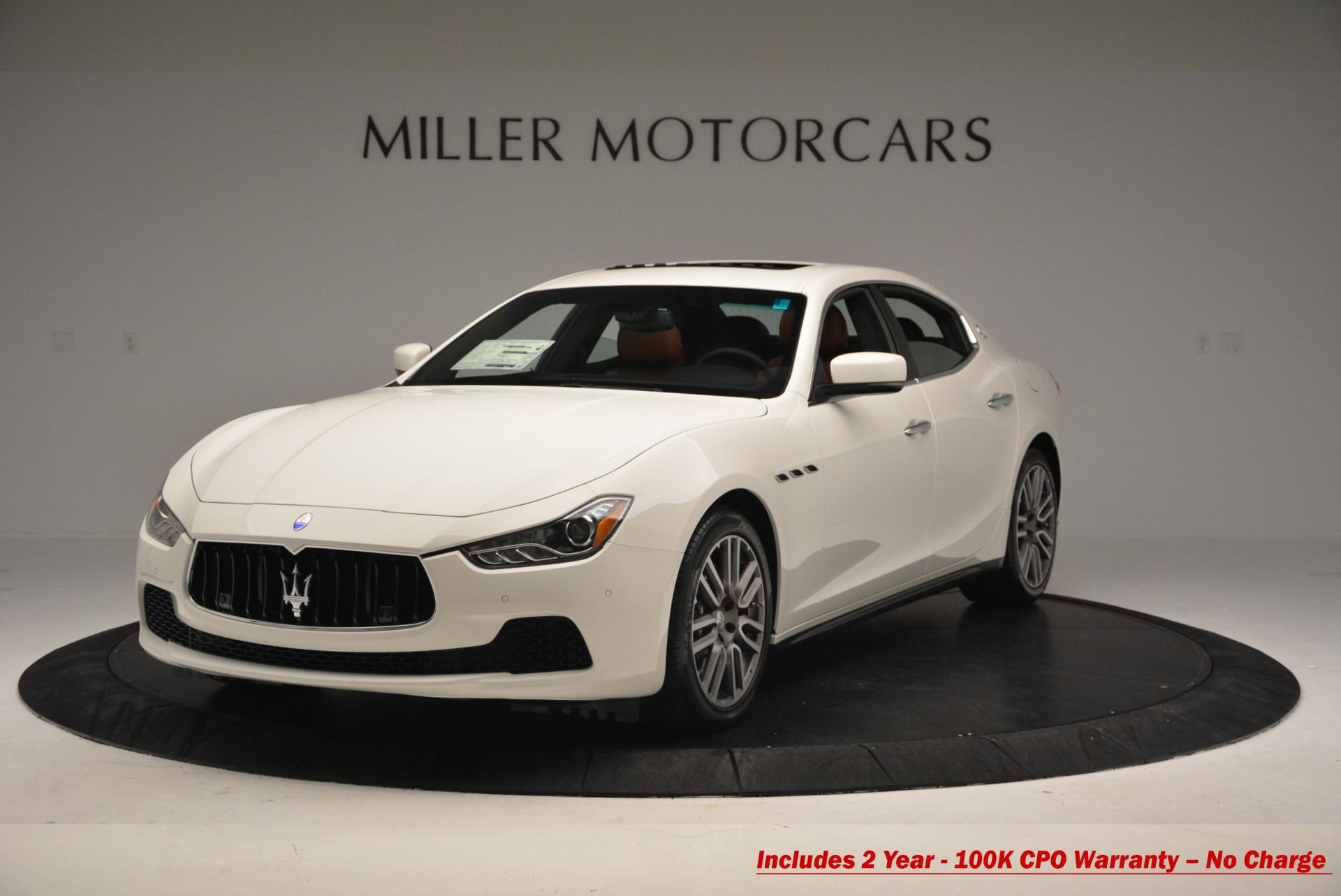 Used 2016 Maserati Ghibli S Q4 For Sale In Westport, CT 186_main