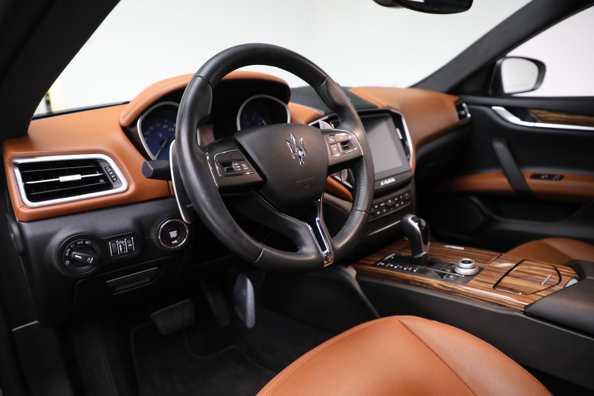 New 2018 Maserati Ghibli S Q4 For Sale In Westport, CT 1861_p13