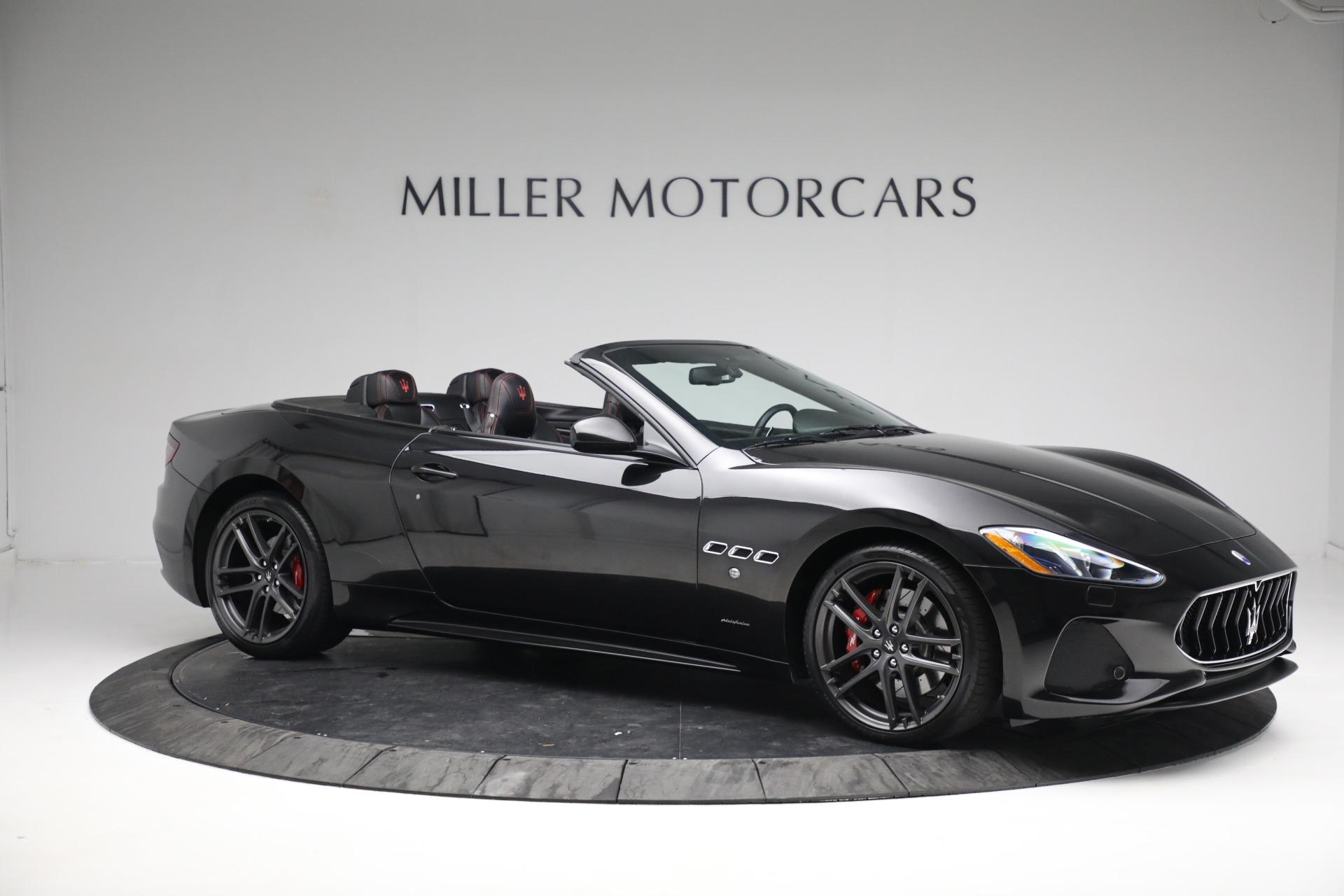 New 2018 Maserati GranTurismo Sport Convertible For Sale In Westport, CT 1863_p10