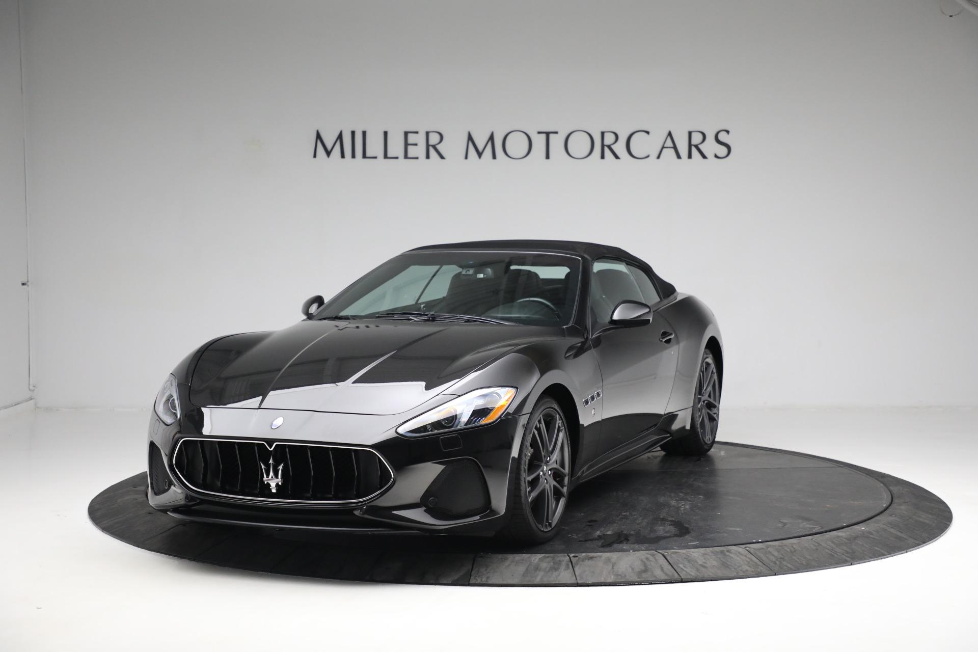 New 2018 Maserati GranTurismo Sport Convertible For Sale In Westport, CT 1863_p13