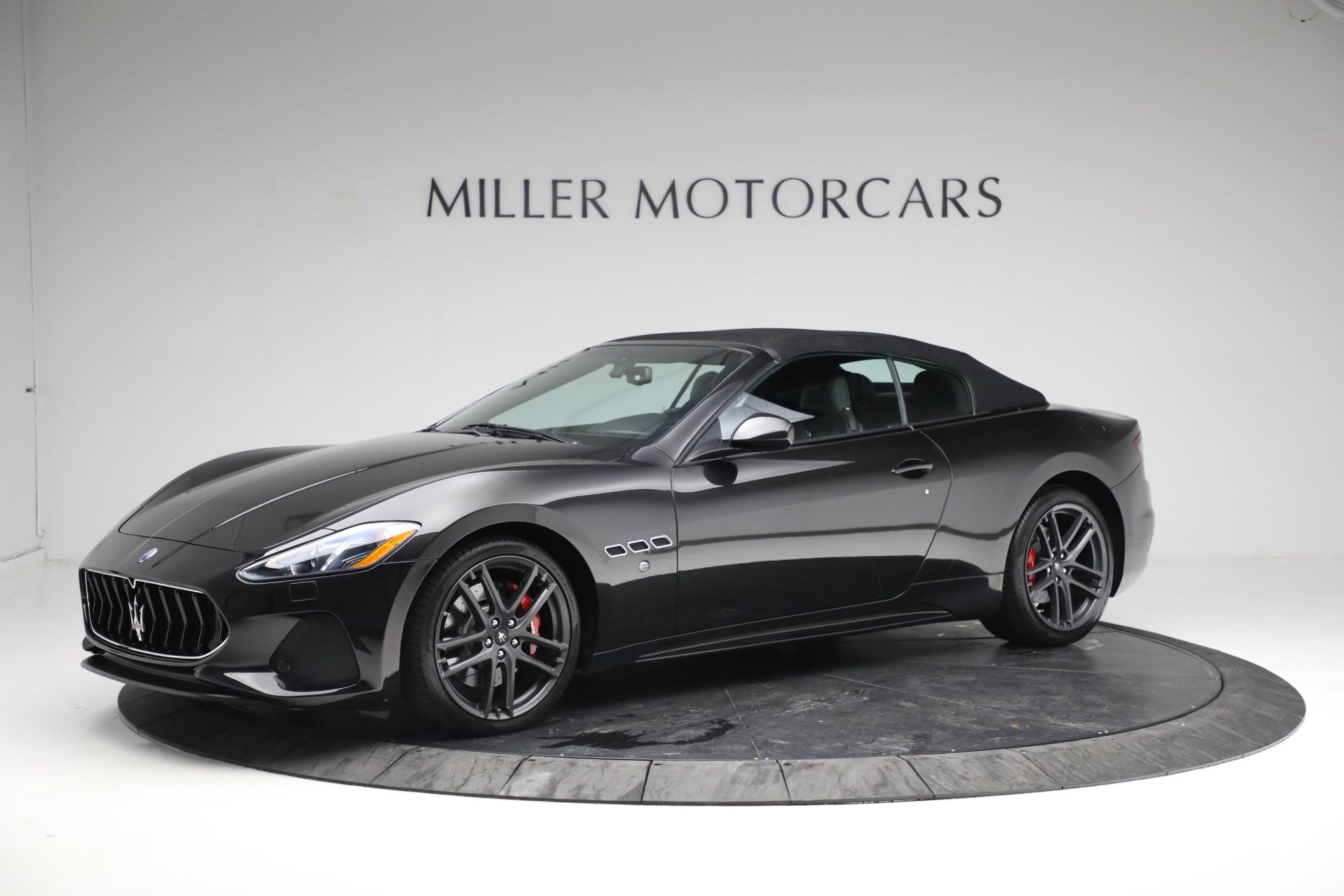 New 2018 Maserati GranTurismo Sport Convertible For Sale In Westport, CT 1863_p14
