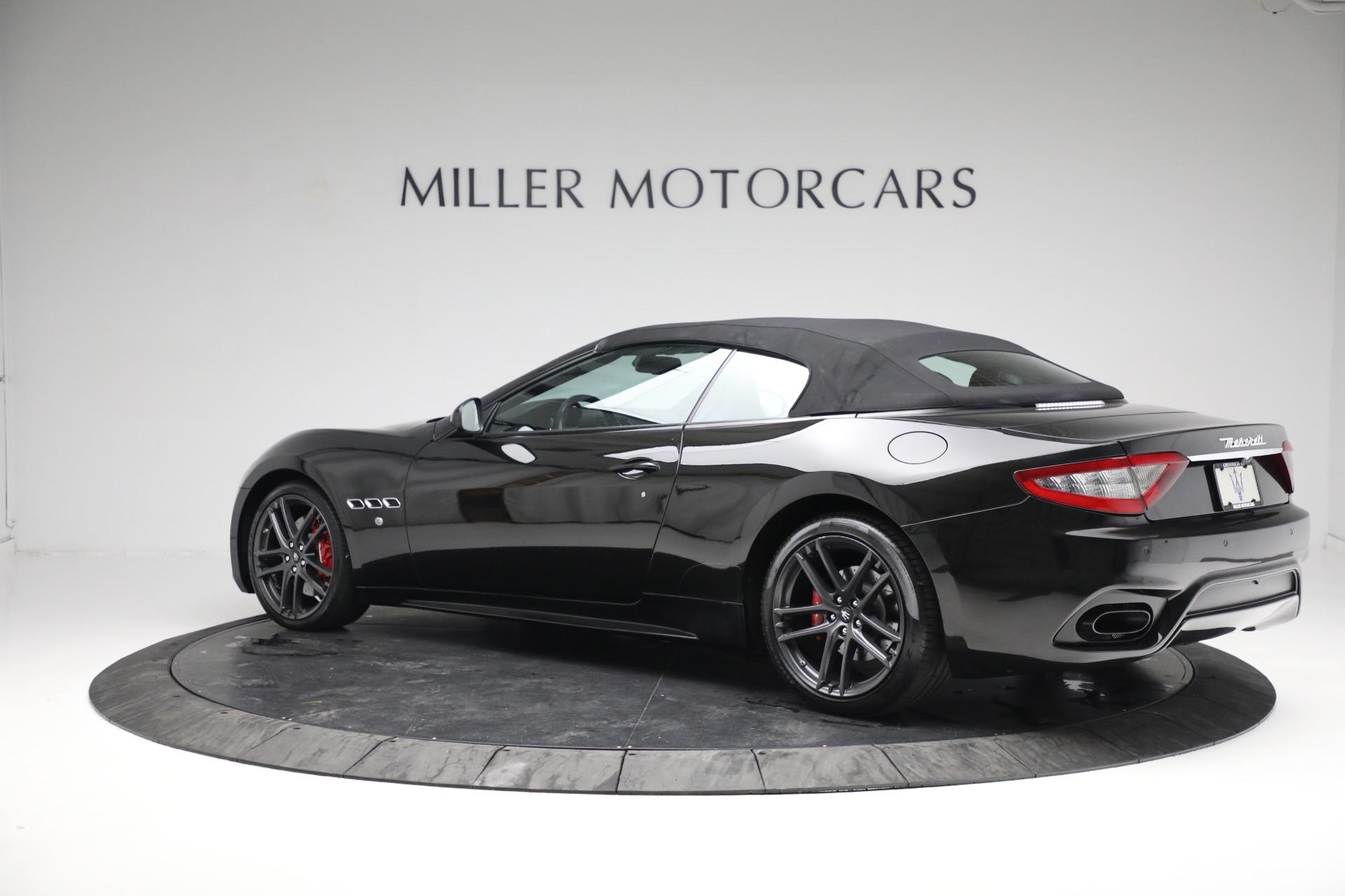 New 2018 Maserati GranTurismo Sport Convertible For Sale In Westport, CT 1863_p16