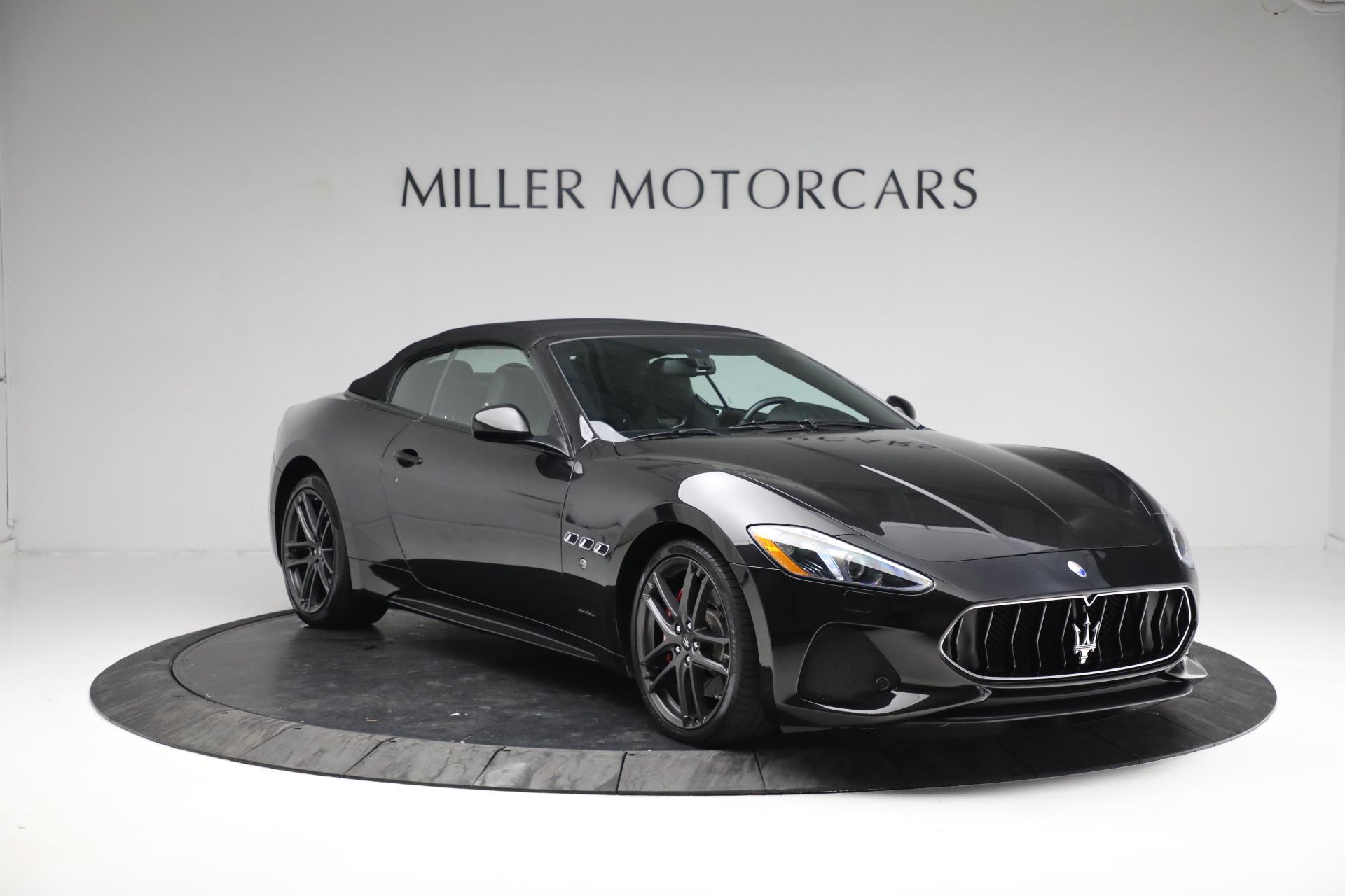 New 2018 Maserati GranTurismo Sport Convertible For Sale In Westport, CT 1863_p23