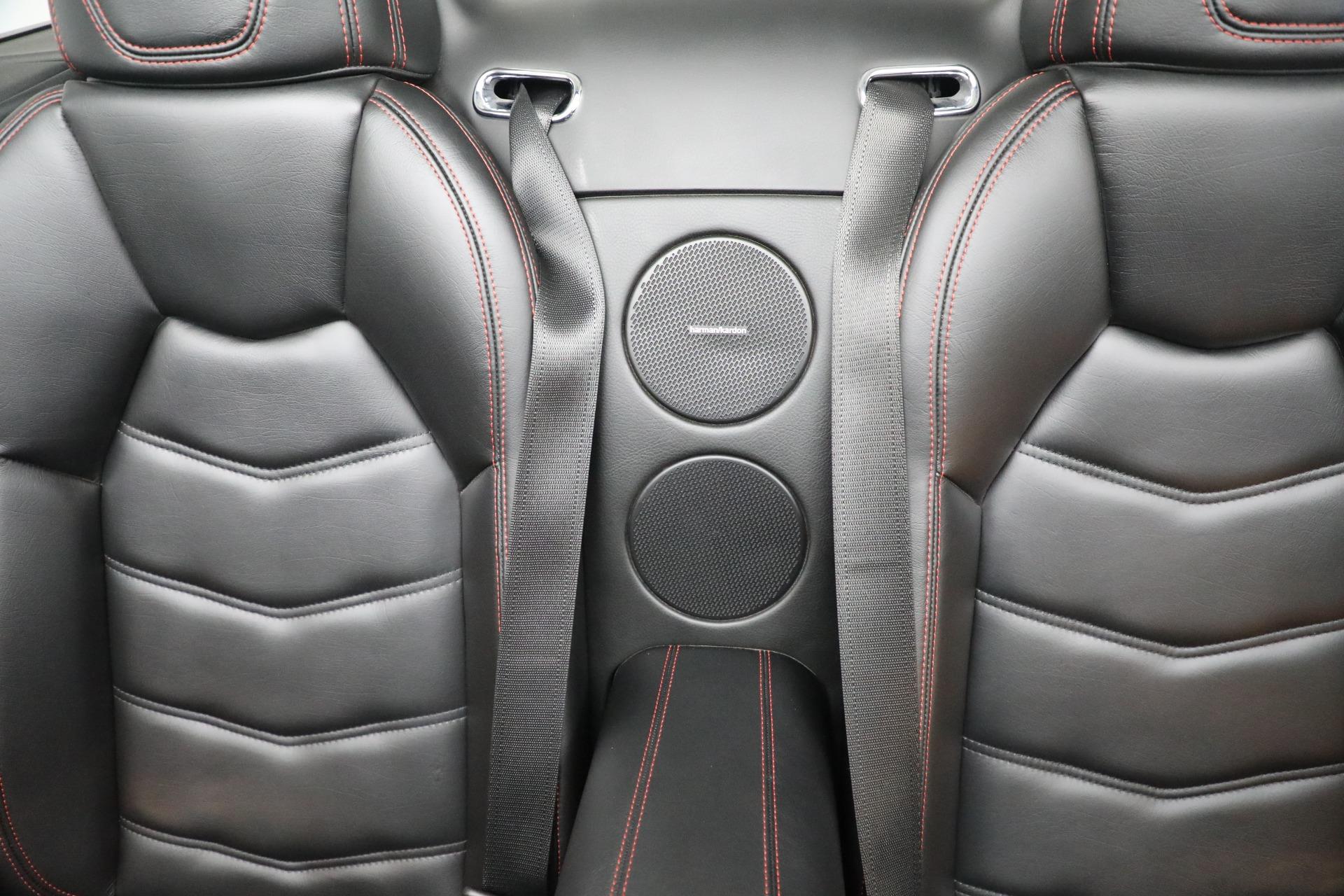 New 2018 Maserati GranTurismo Sport Convertible For Sale In Westport, CT 1863_p33