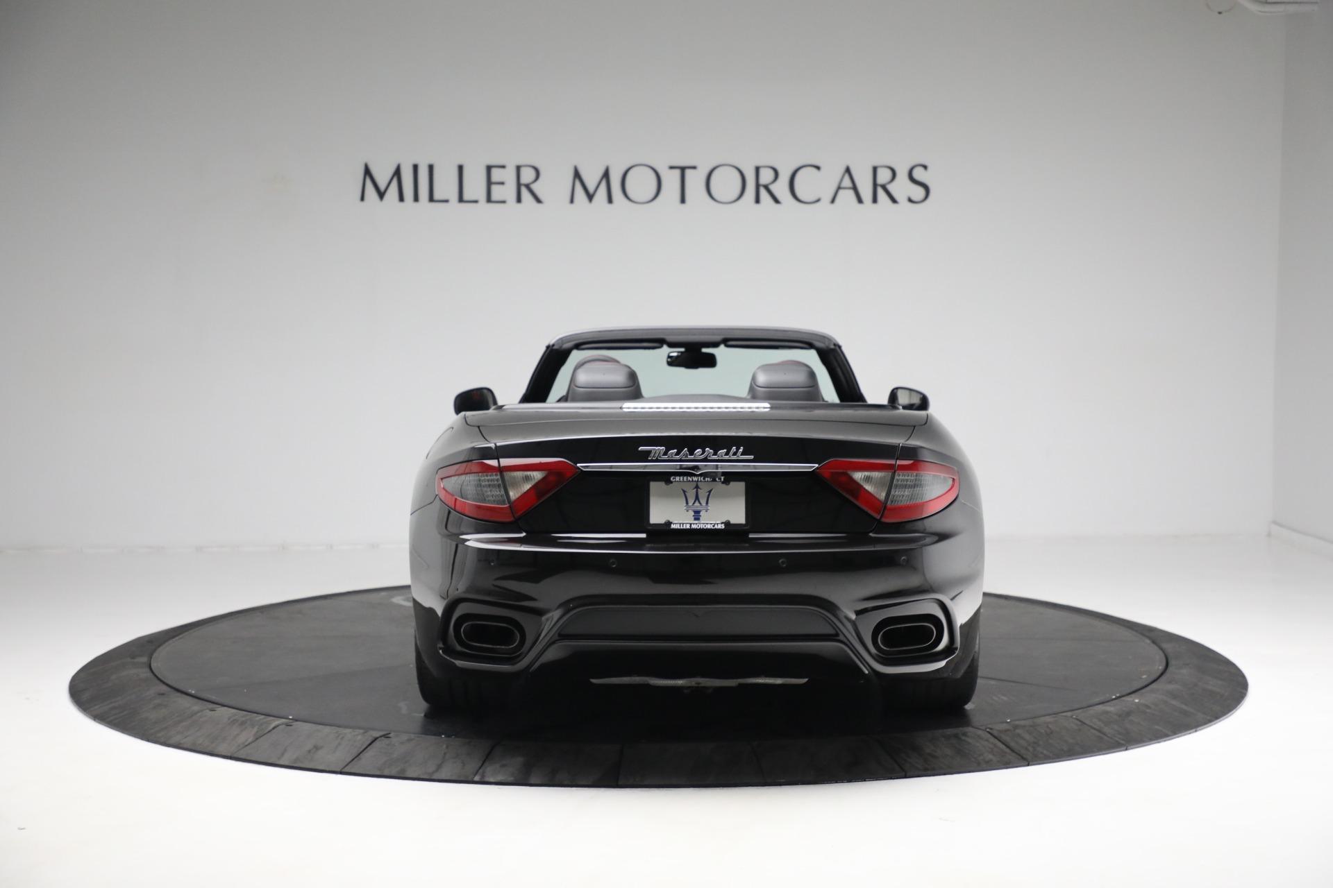 New 2018 Maserati GranTurismo Sport Convertible For Sale In Westport, CT 1863_p6