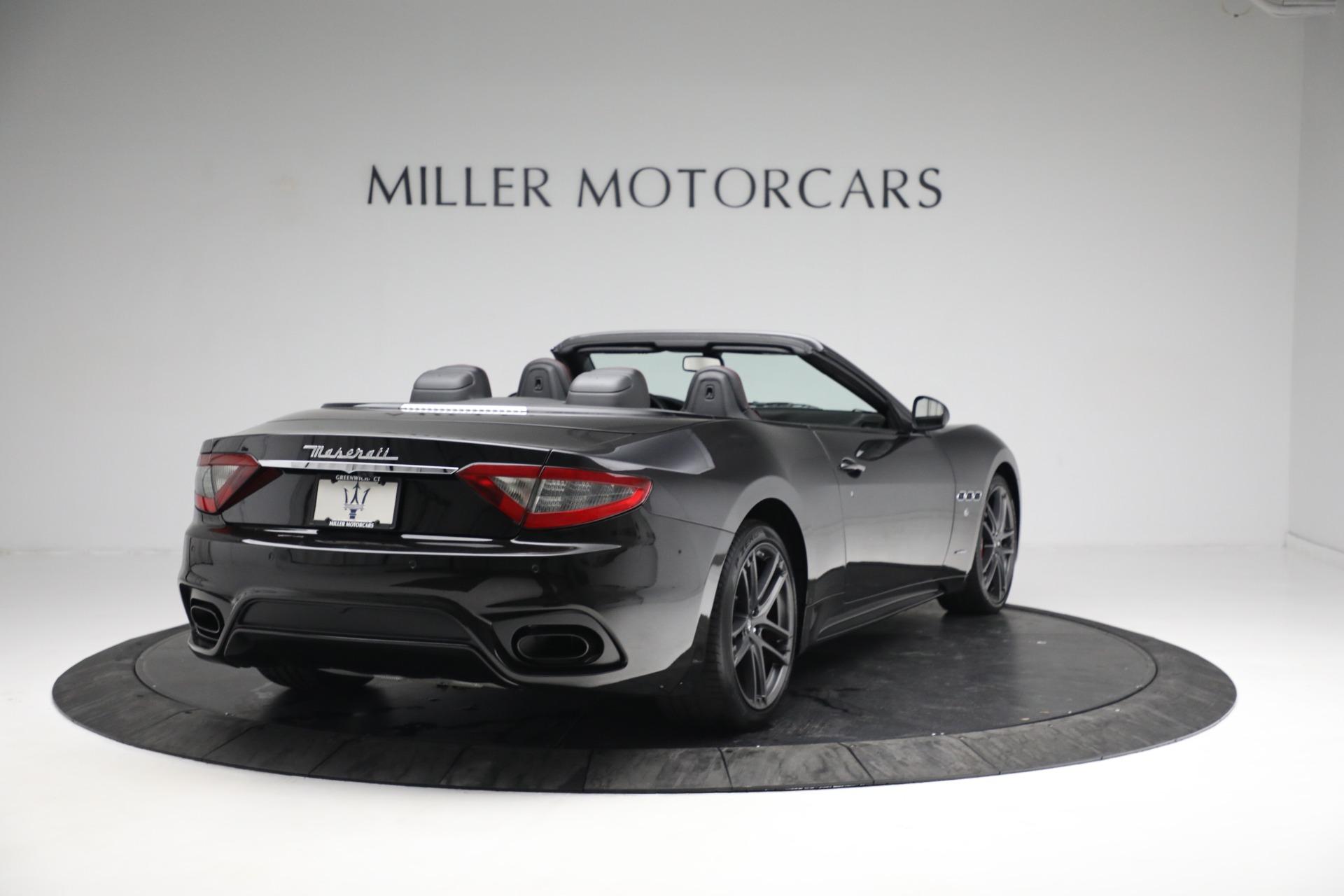 New 2018 Maserati GranTurismo Sport Convertible For Sale In Westport, CT 1863_p7