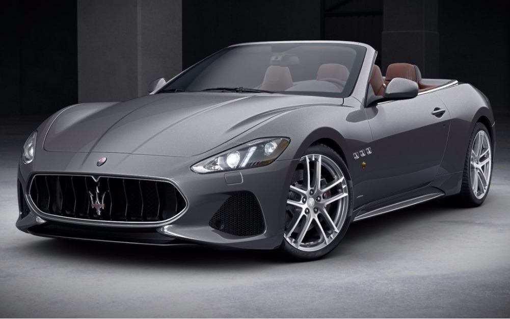 New 2018 Maserati GranTurismo Sport Convertible For Sale In Westport, CT 1864_main