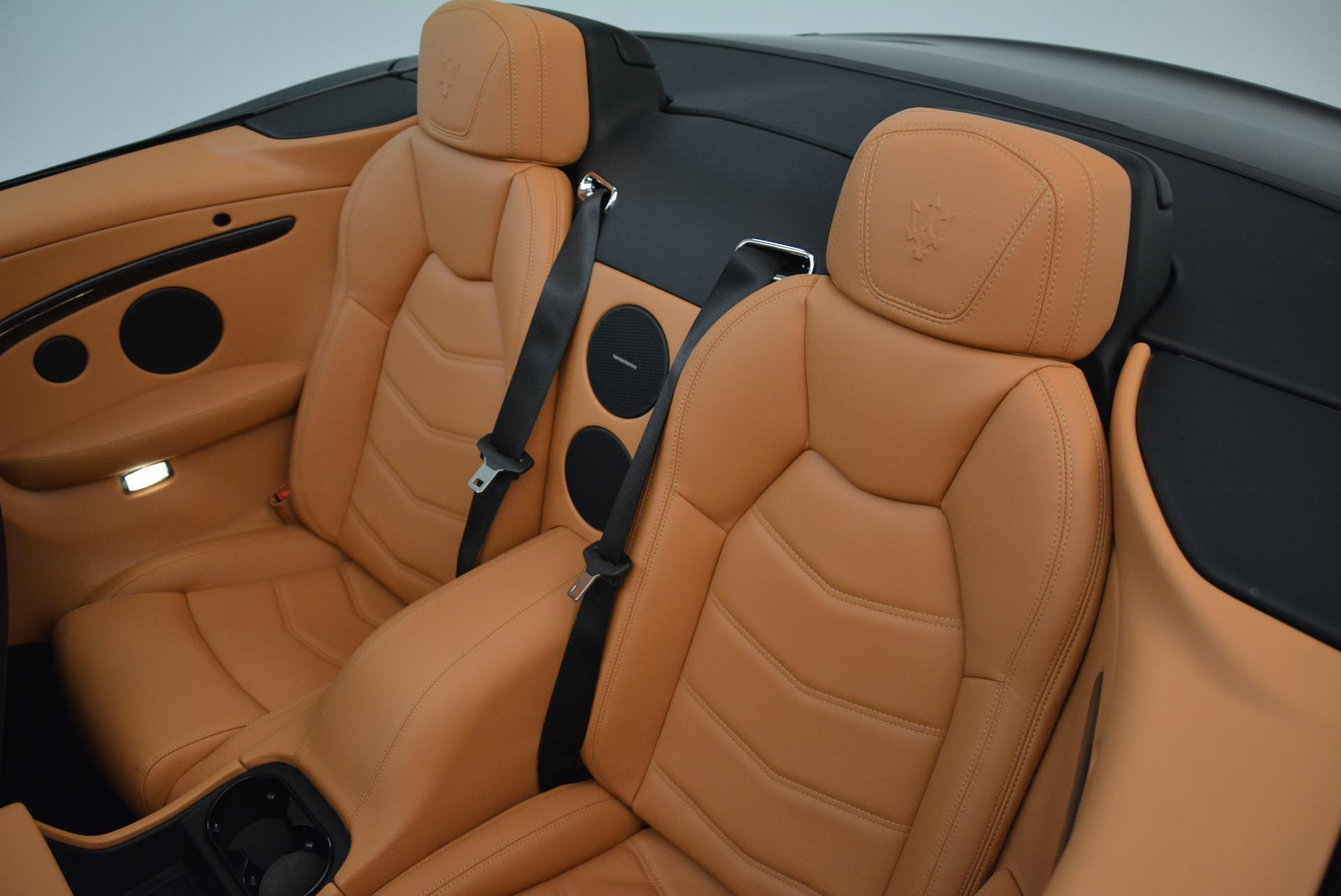 Used 2018 Maserati GranTurismo Sport Convertible For Sale In Westport, CT 1865_p28