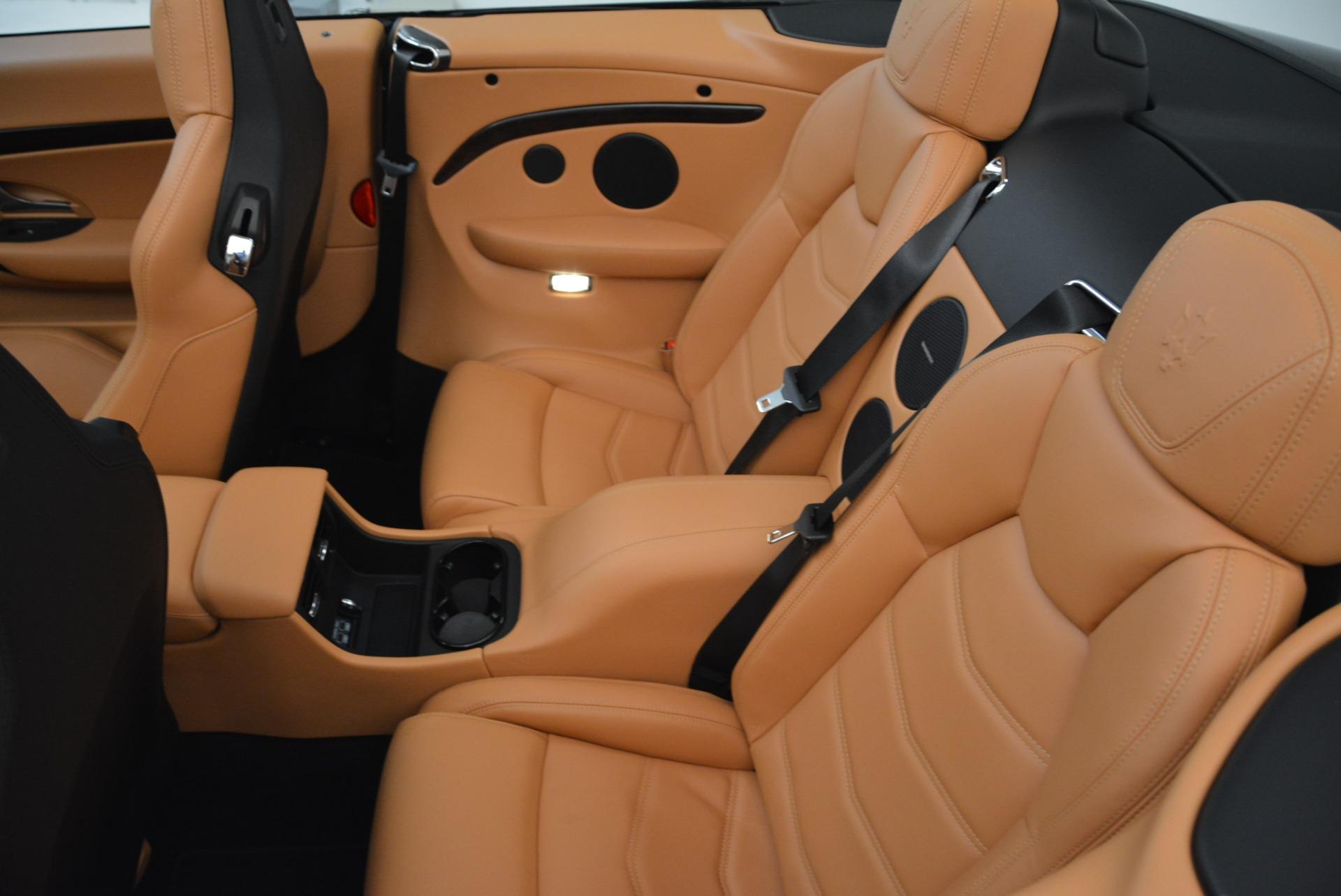 Used 2018 Maserati GranTurismo Sport Convertible For Sale In Westport, CT 1865_p30