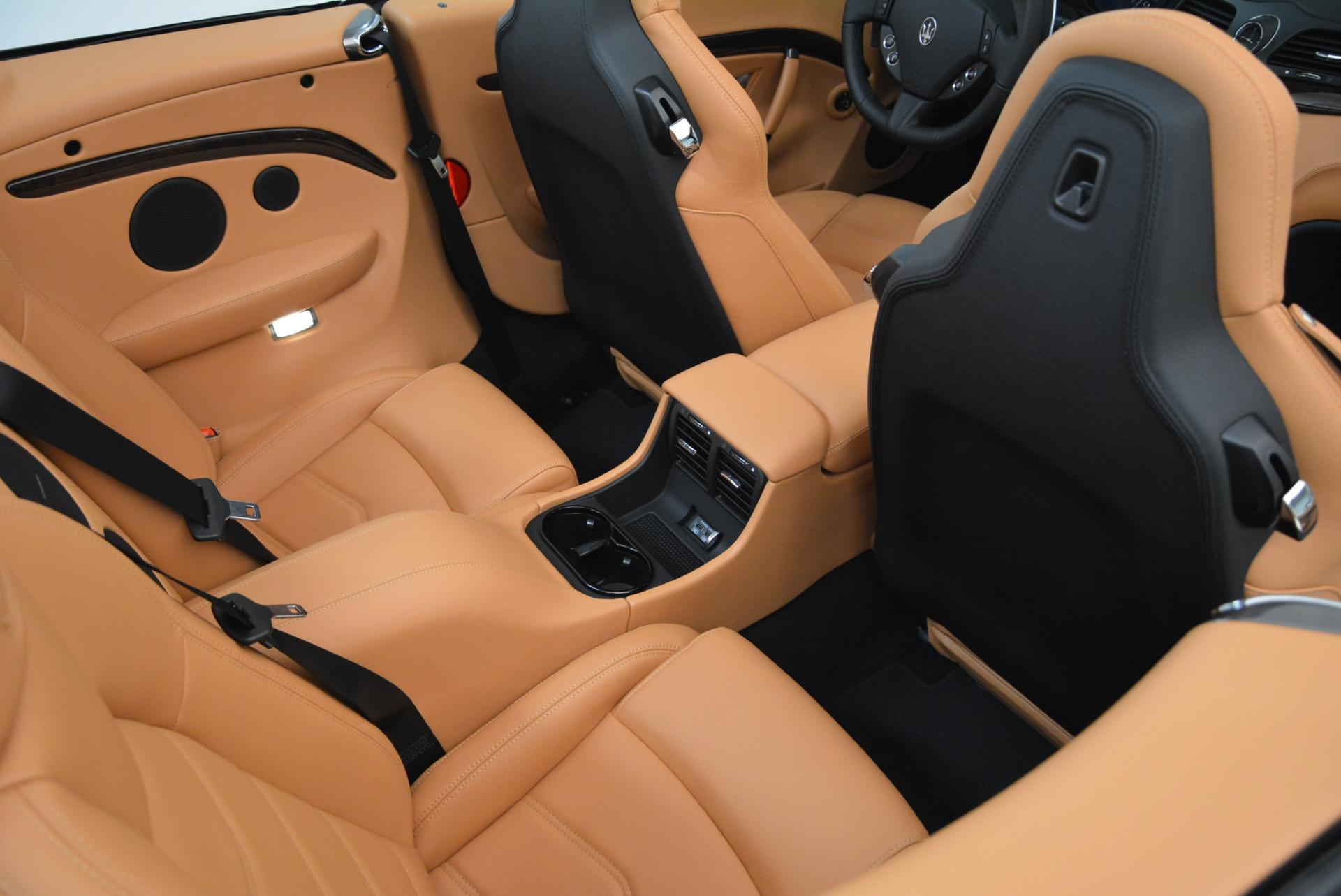 Used 2018 Maserati GranTurismo Sport Convertible For Sale In Westport, CT 1865_p34