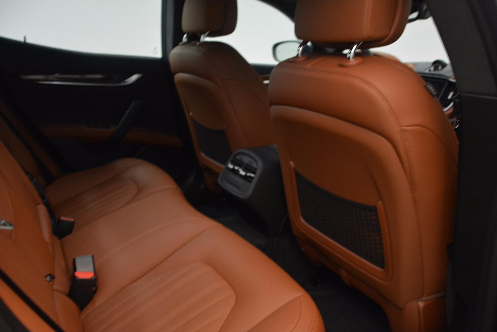 New 2018 Maserati Ghibli S Q4 GranLusso For Sale In Westport, CT 1866_p24