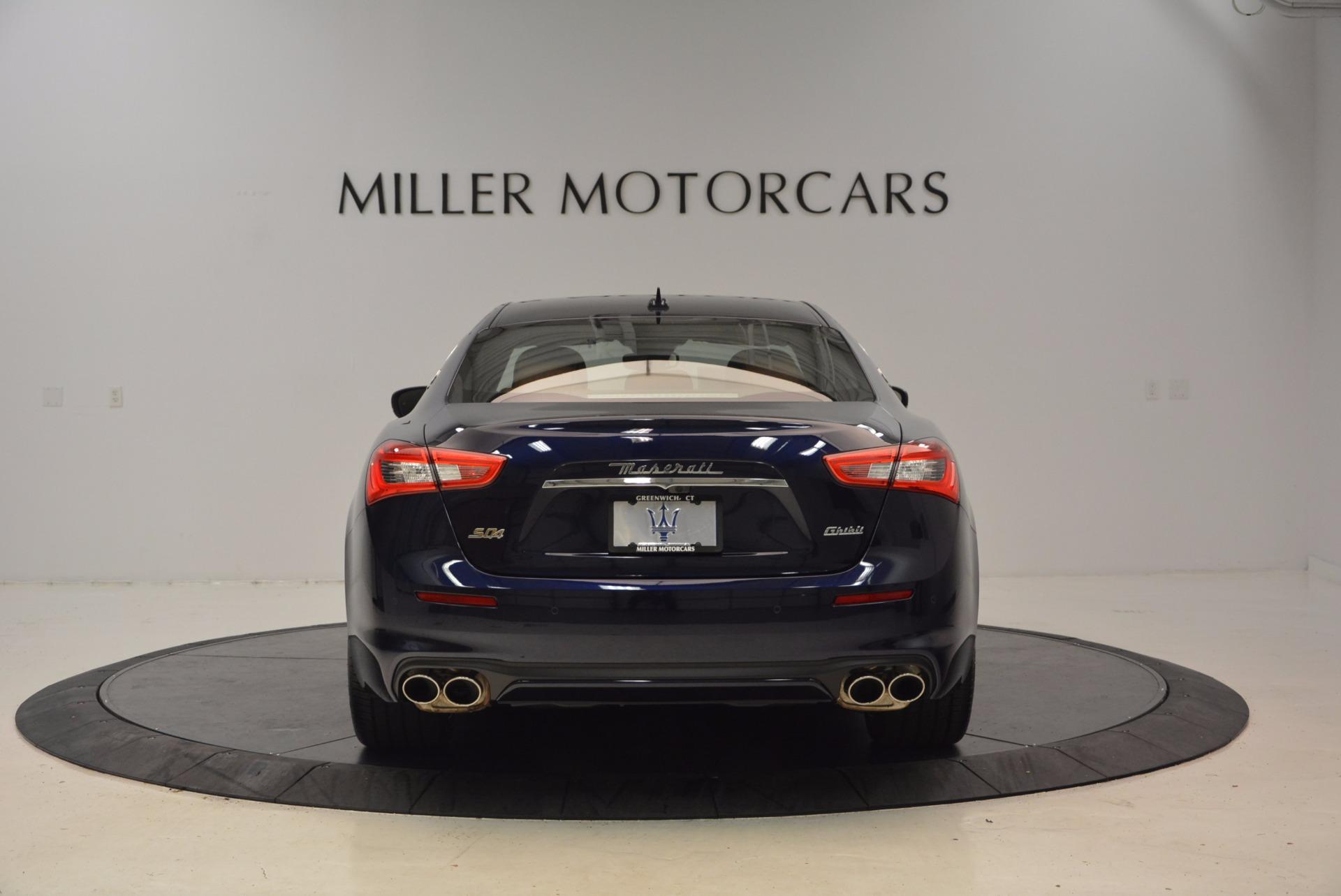 New 2018 Maserati Ghibli S Q4 GranLusso For Sale In Westport, CT 1866_p6