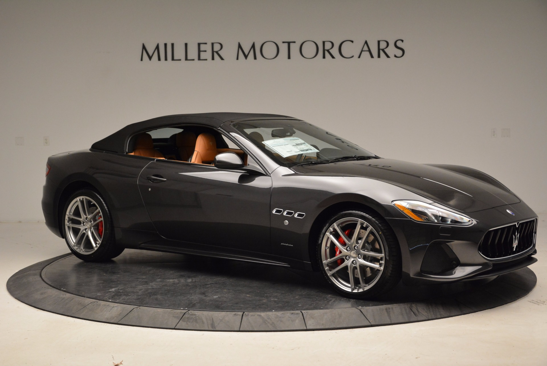 New 2018 Maserati GranTurismo Sport Convertible For Sale In Westport, CT 1869_p10