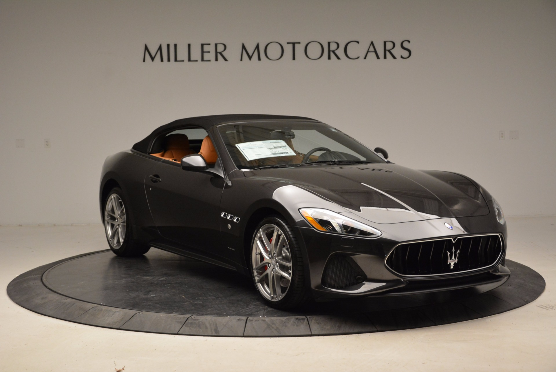 New 2018 Maserati GranTurismo Sport Convertible For Sale In Westport, CT 1869_p11