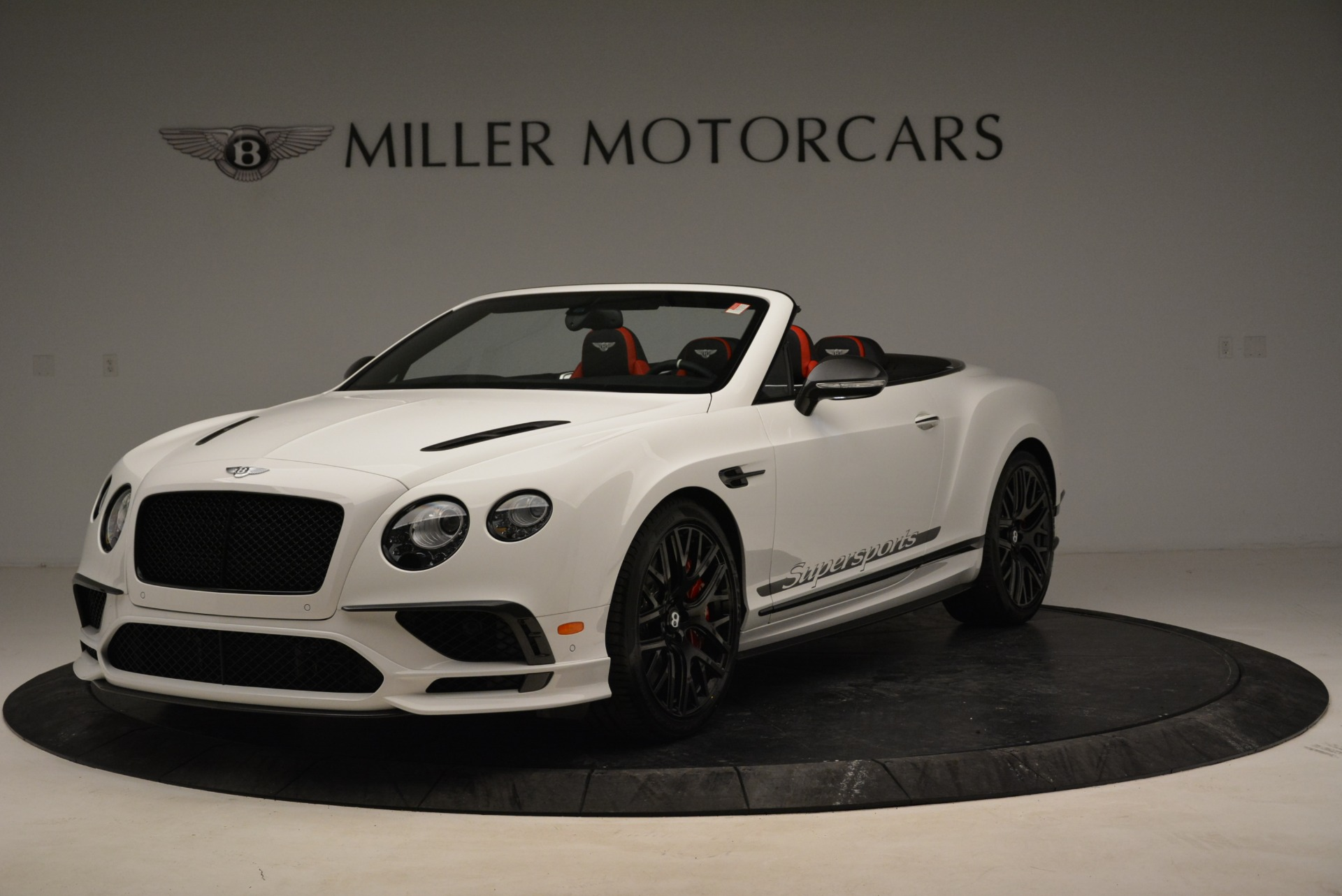 Used 2018 Bentley Continental GT Supersports Convertible For Sale In Westport, CT 1875_main