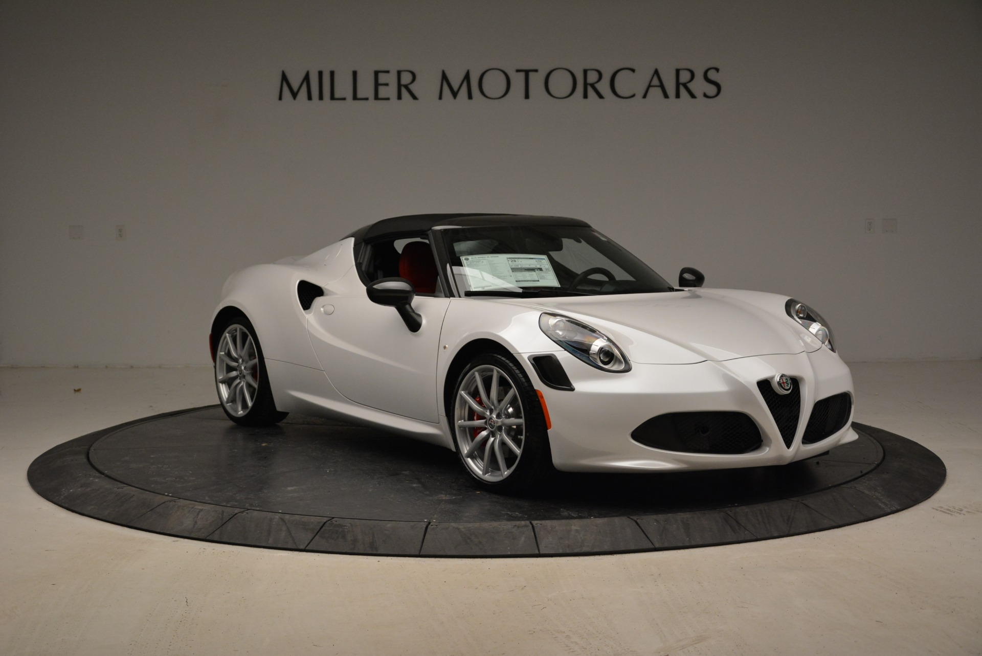 New 2018 Alfa Romeo 4C Spider For Sale In Westport, CT 1878_p16