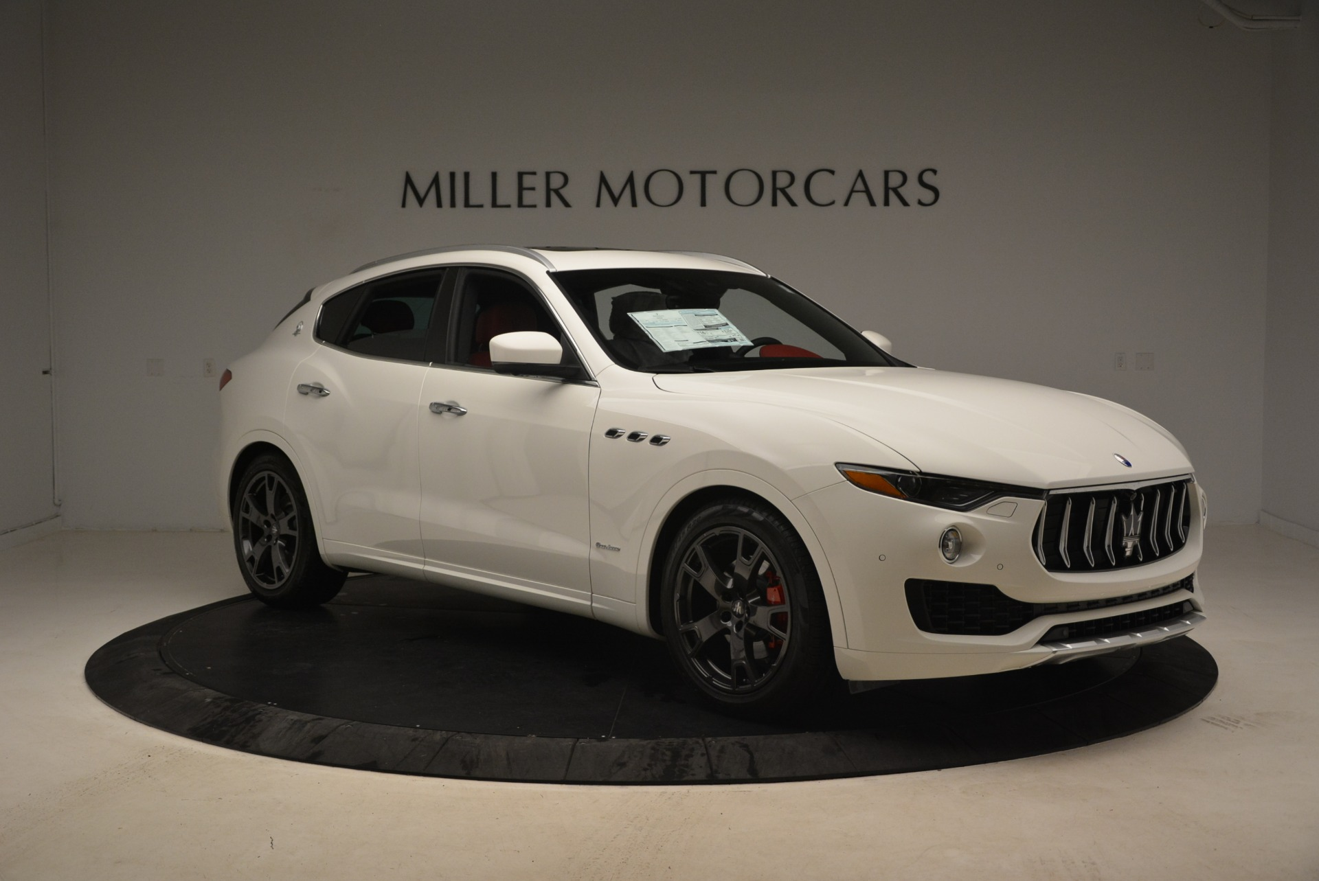 New 2018 Maserati Levante Q4 GranLusso For Sale In Westport, CT 1889_p11