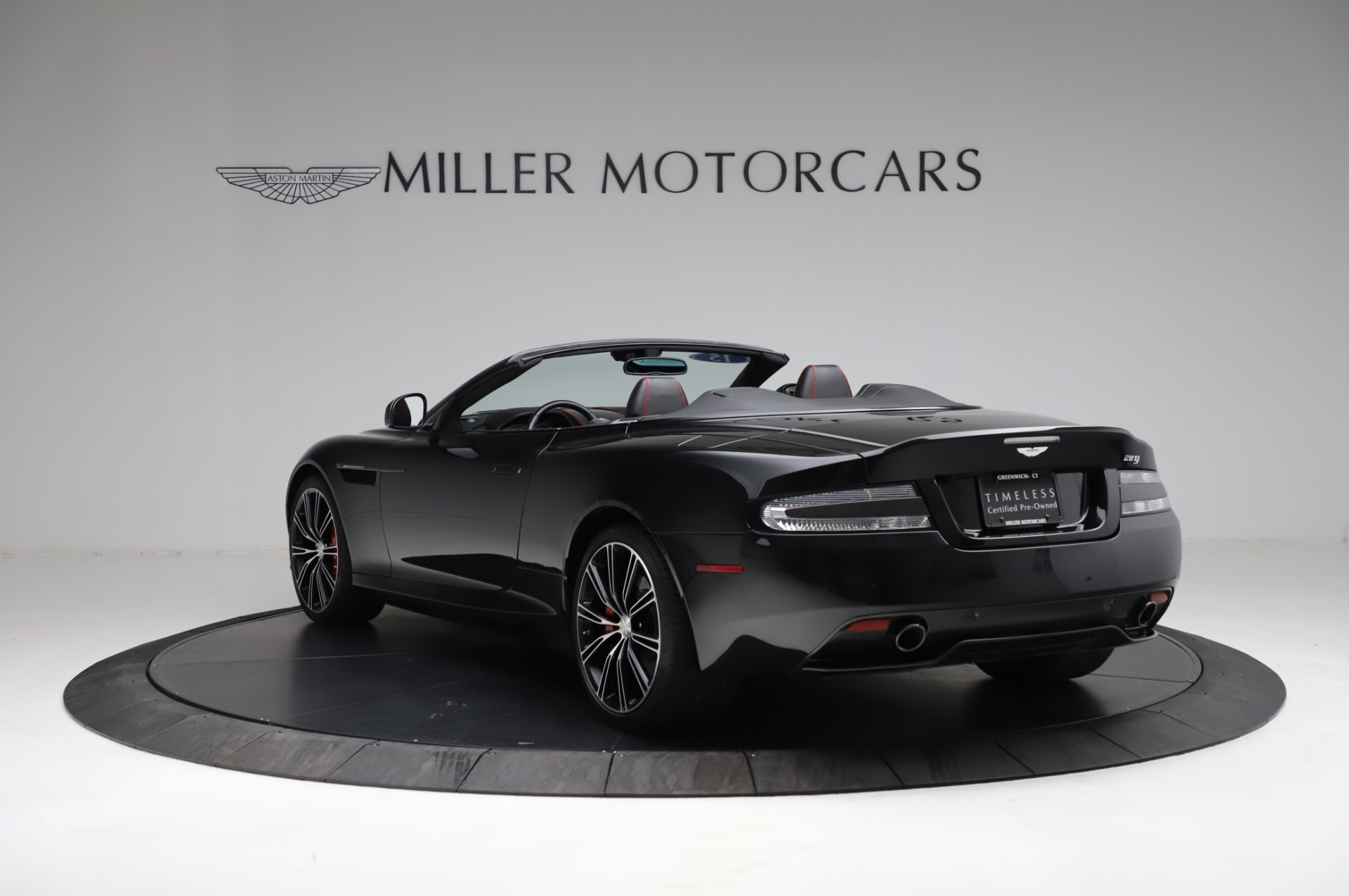 Used 2015 Aston Martin DB9 Convertible For Sale In Westport, CT 1919_p4