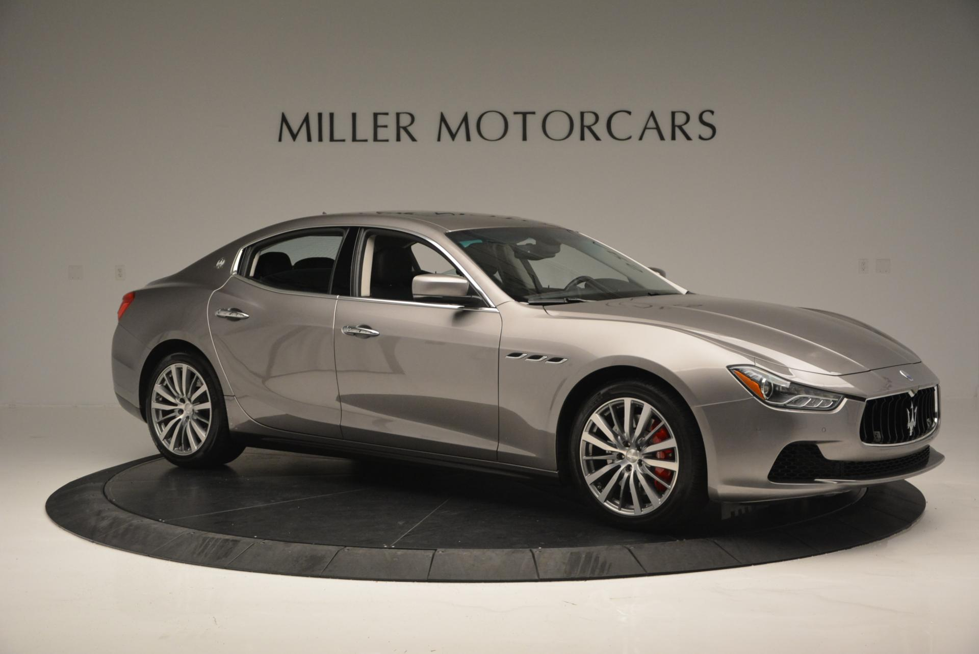 Used 2016 Maserati Ghibli S Q4 For Sale In Westport, CT 192_p10