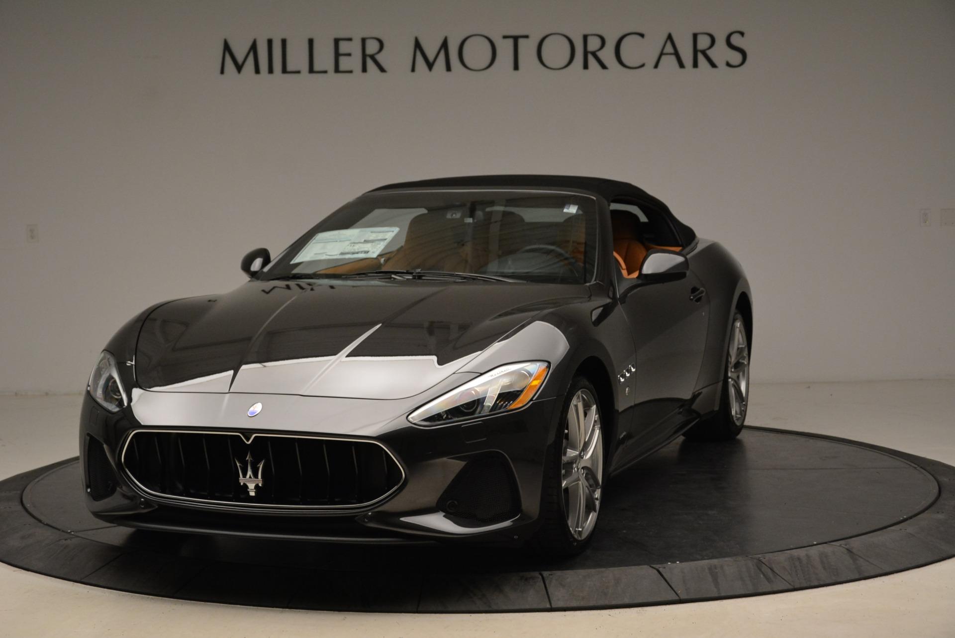 New 2018 Maserati GranTurismo Sport Convertible For Sale In Westport, CT 1942_main