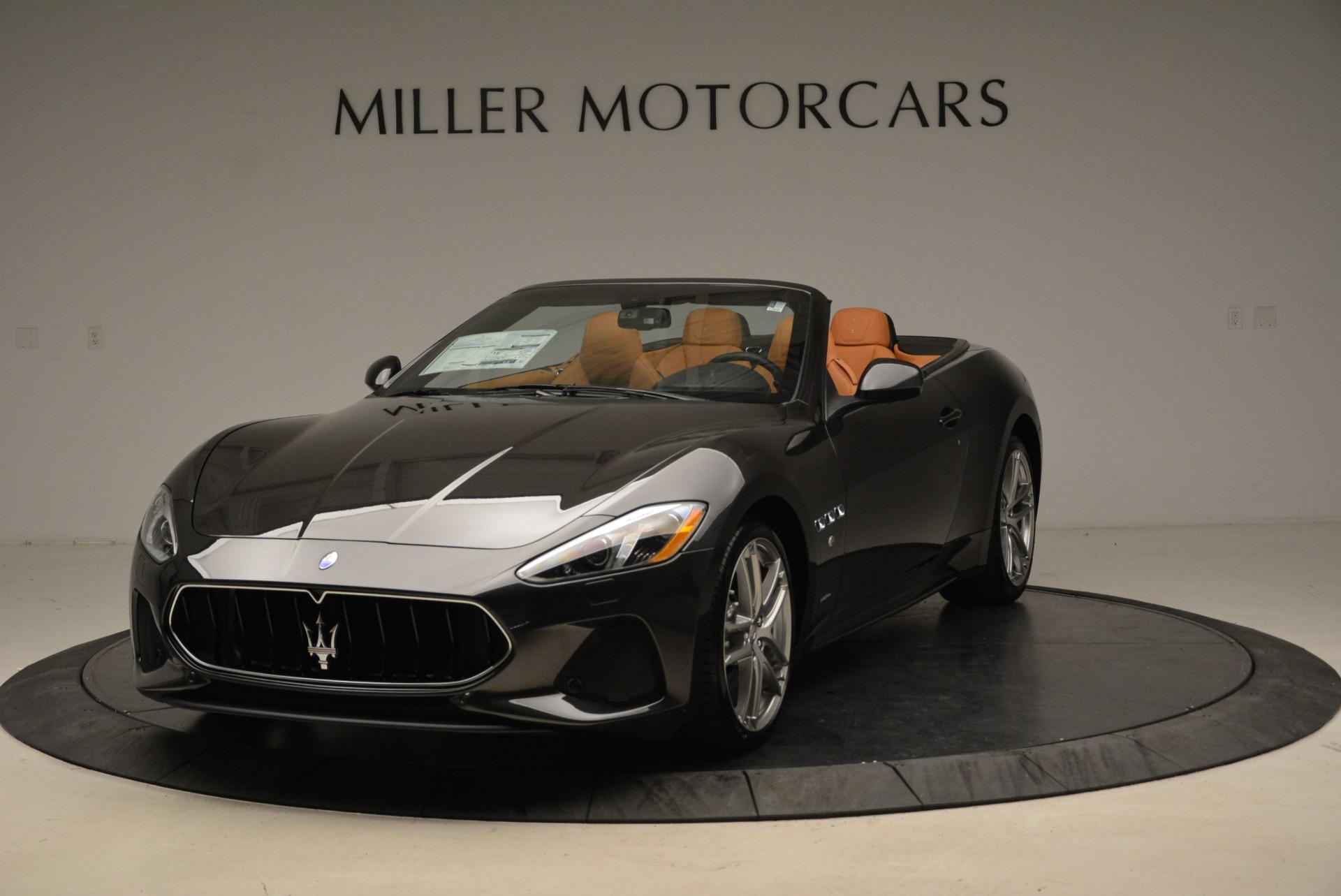 New 2018 Maserati GranTurismo Sport Convertible For Sale In Westport, CT 1942_p13